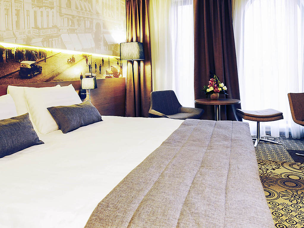 H tel bucharest mercure bucharest city center for Chambre avec lit king size