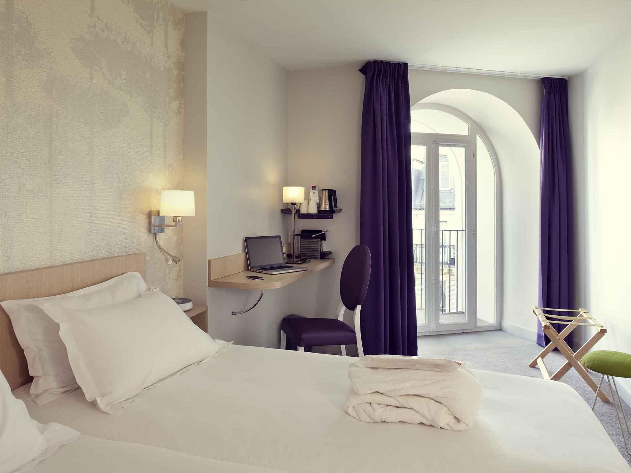 Отель — Mercure Париж Нотр-Дам Сен-Жермен-Де-Пре