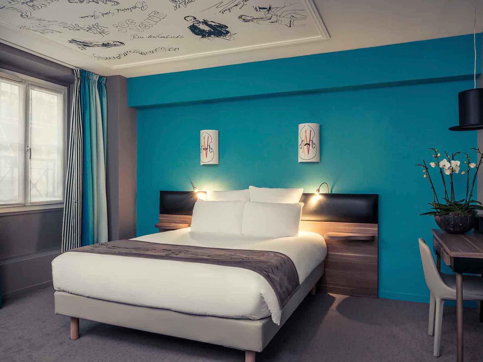 酒店 – 巴黎格兰大道歌剧院美居酒店