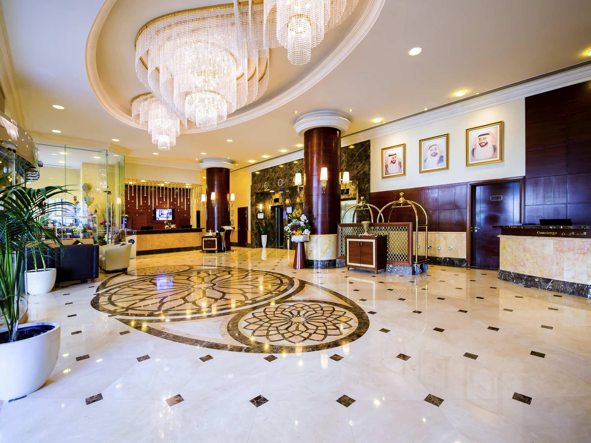 Отель — Маджлис Grand Mercure Резиденс Абу Даби