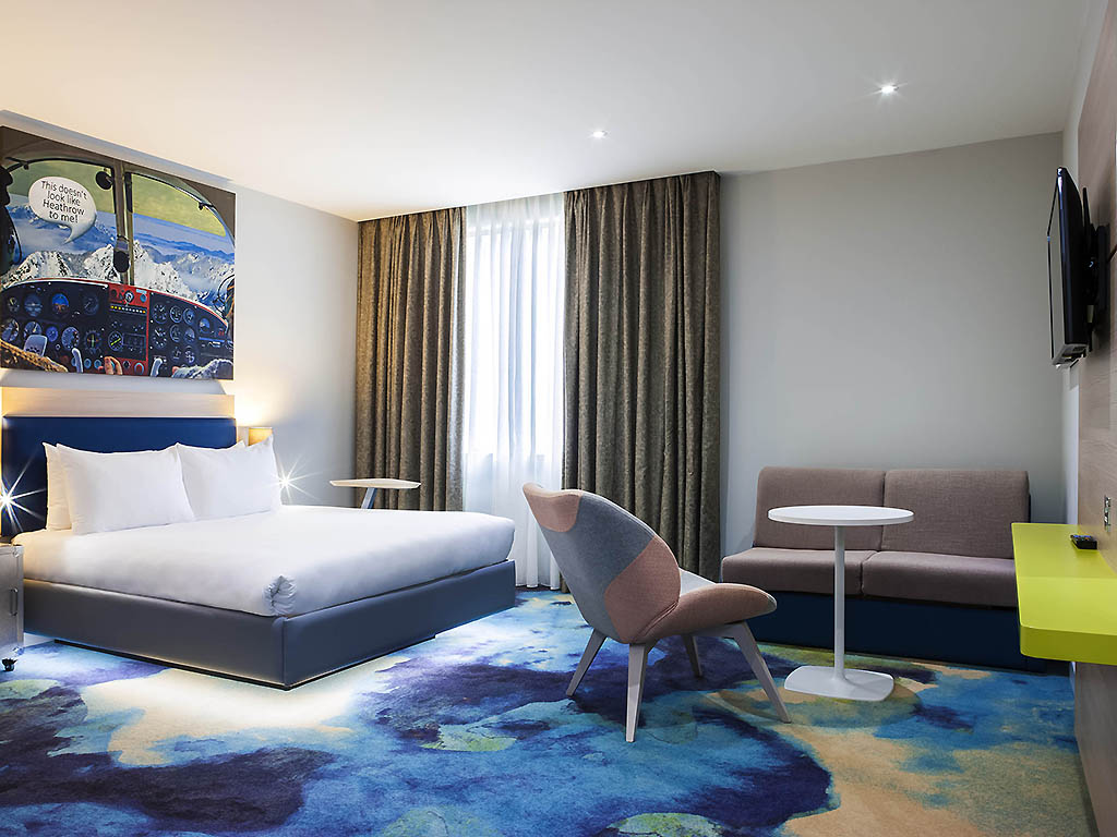Ibis london heathrow airport comfortable hotel in london for Chambre airport