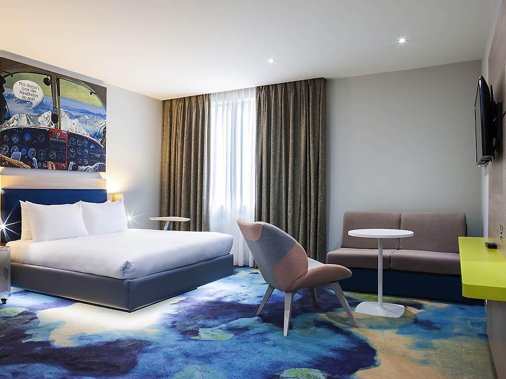 ホテル – イビス スタイルズ ロンドン ヒースロー エアポート