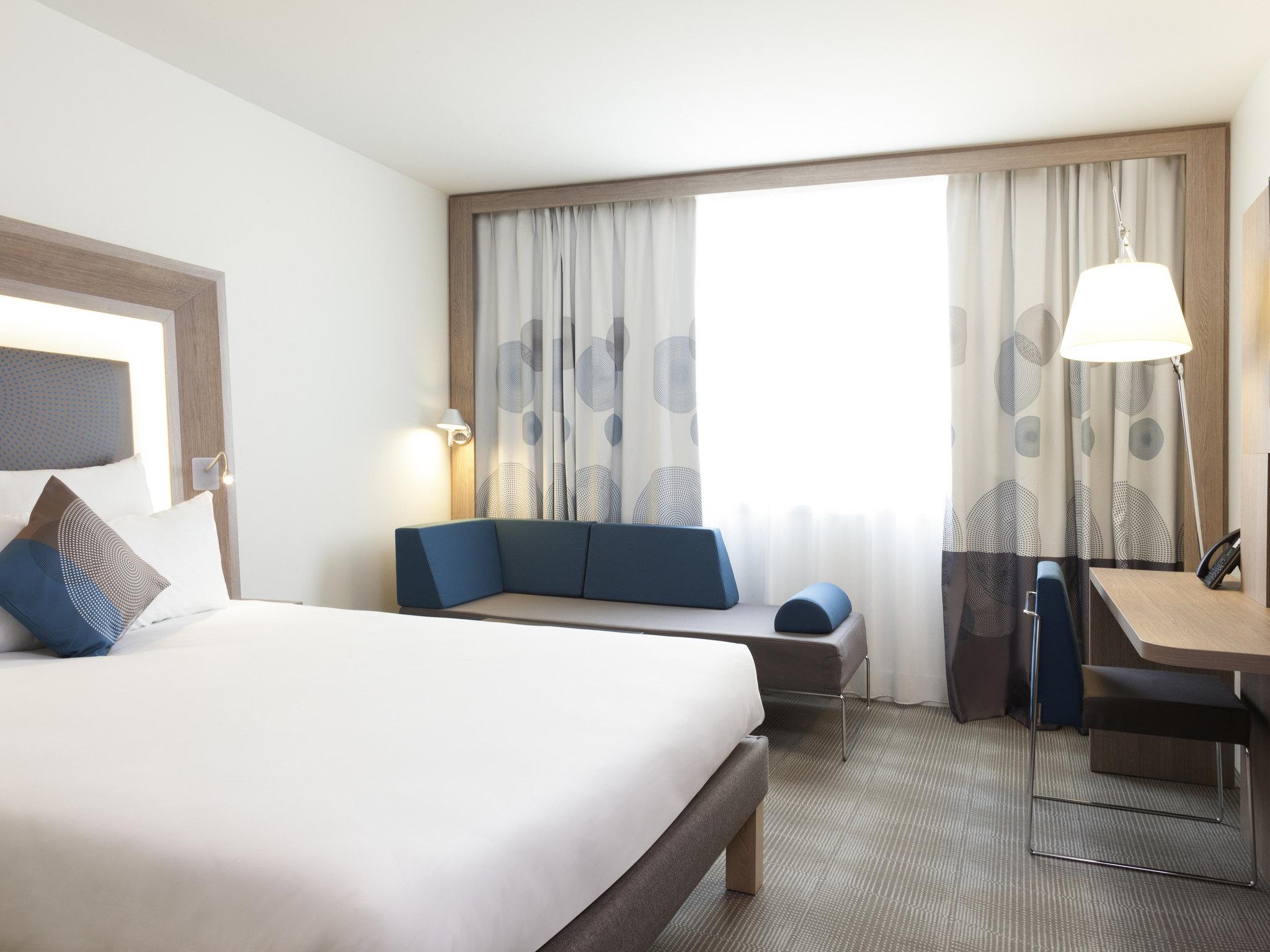 Отель — Novotel Париж Сен-Дени Стад Базилик