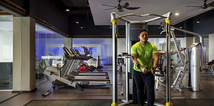 Golf fitness amenities pullman miri waterfront - Best cardio equipment for small spaces property ...