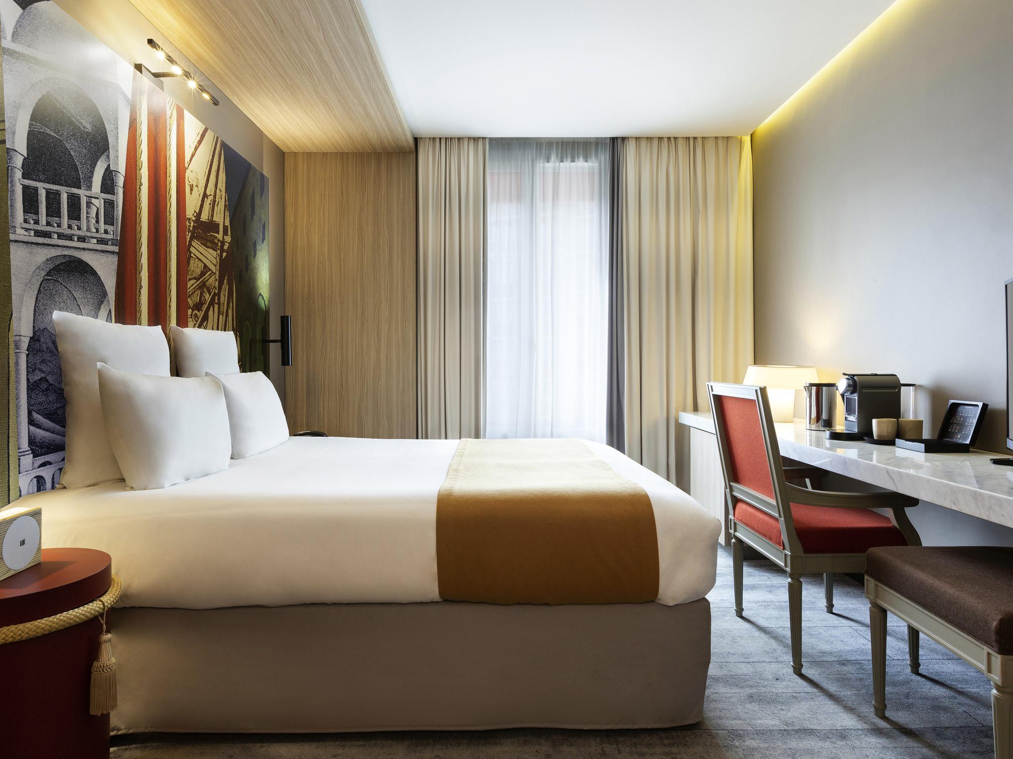 โรงแรม – โรงแรมเมอร์เคียว ปารีส อเลเซีย