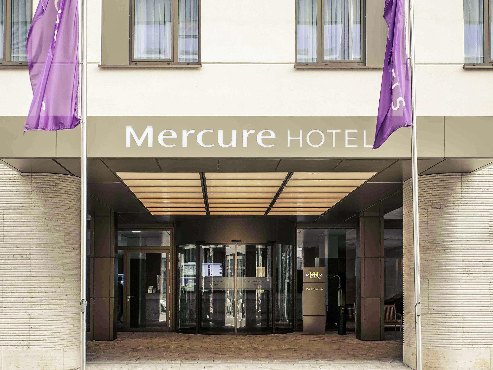 Отель — Отель Mercure Висбаден Сити