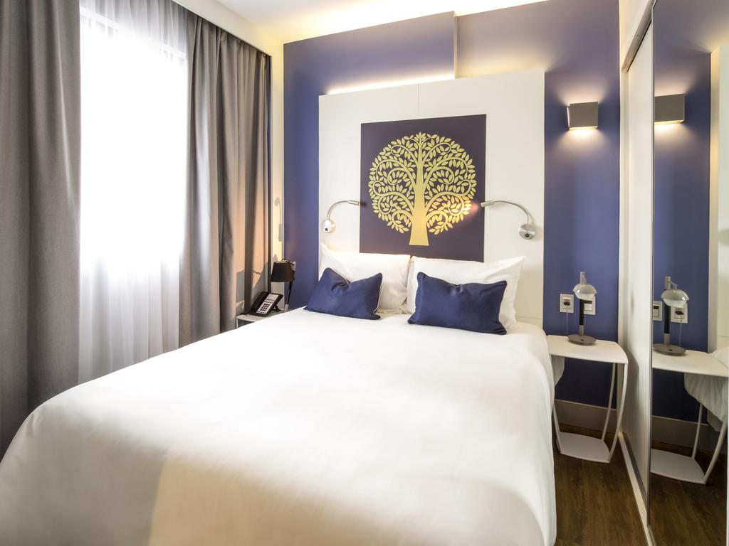 Appartement mit 2 Räumen, Queensize-Bett und Couch