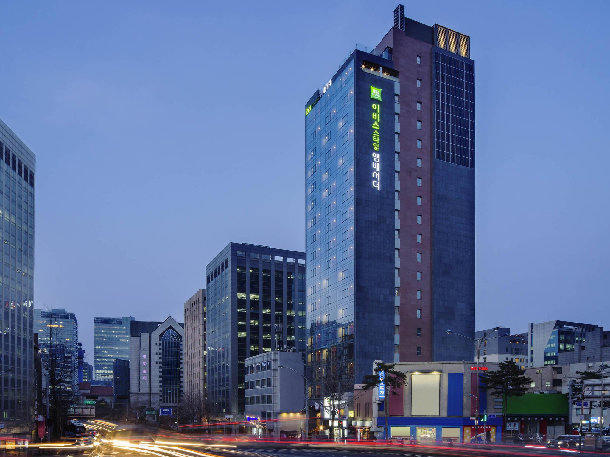 Отель — ibis Styles Ambassador Сеул Мёндон