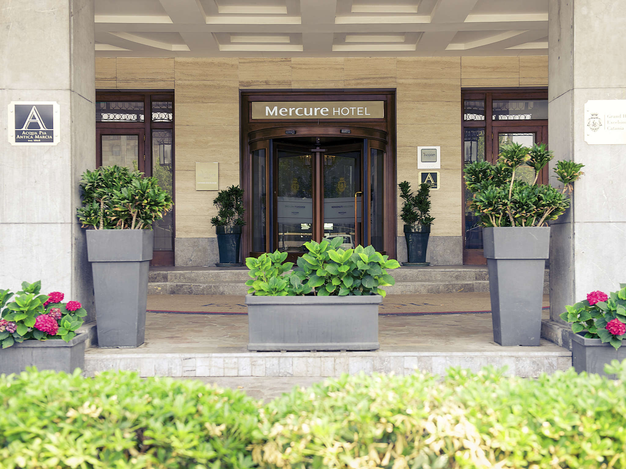Отель — Mercure Catania Excelsior