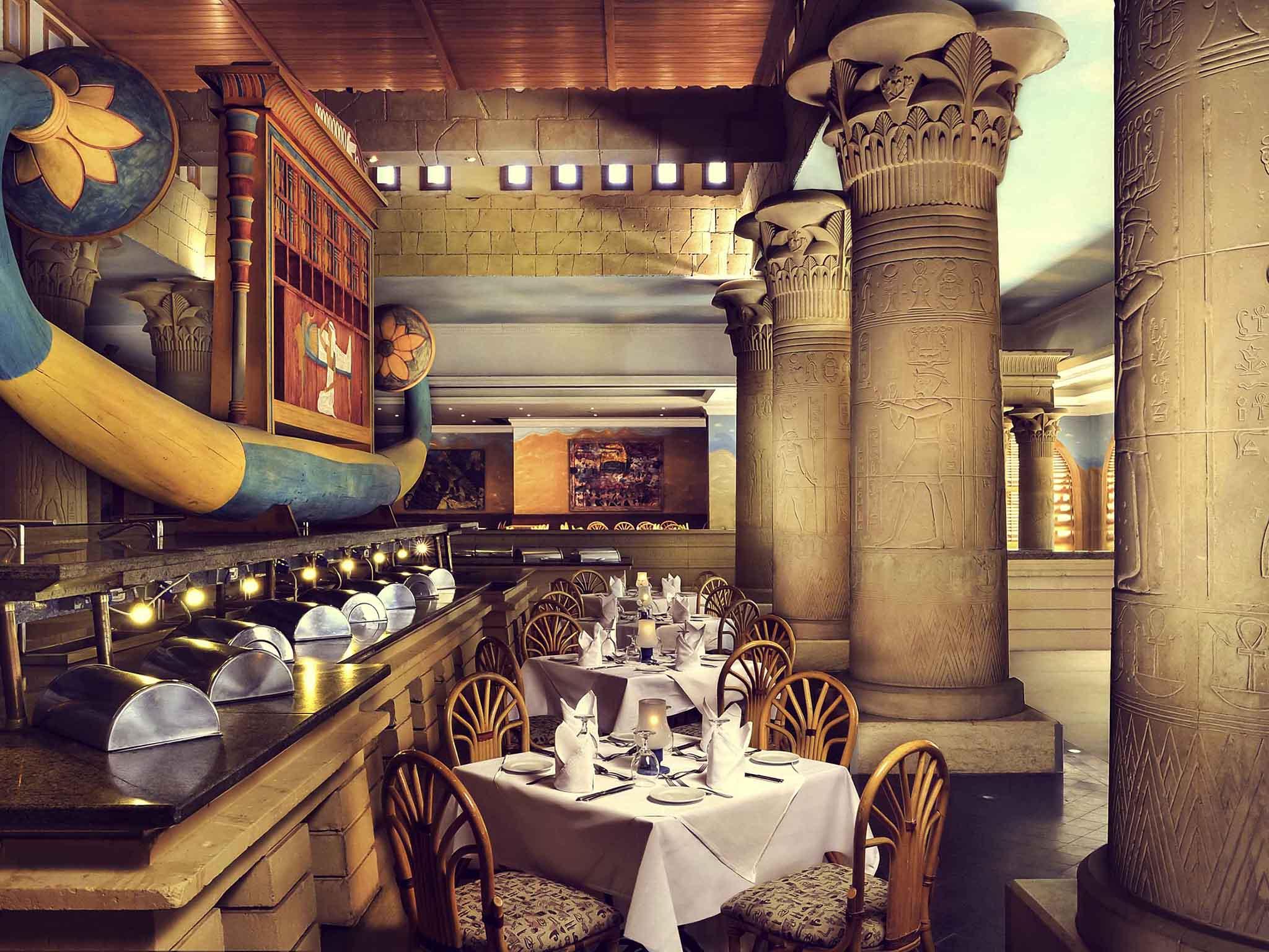Restaurant Mercure Luxor Karnak