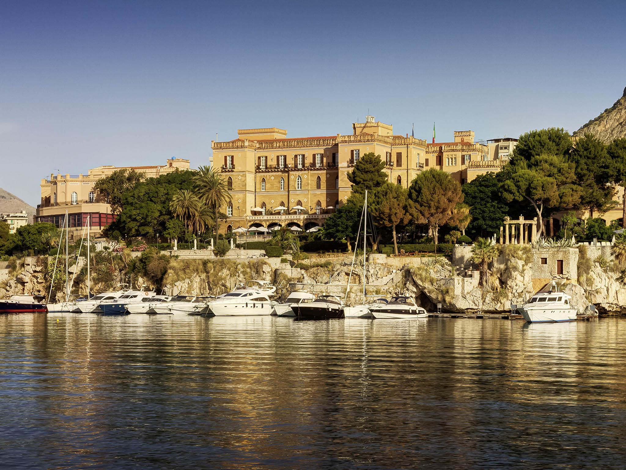 Отель — Grand Hotel Villa Igiea Palermo - MGallery by Sofitel