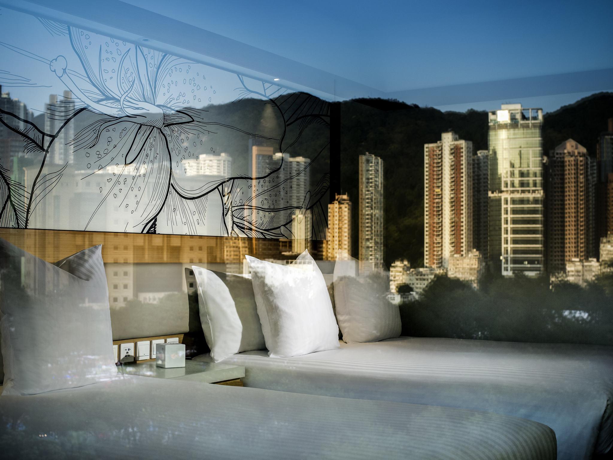 호텔 – 풀만 더 파크 레인 홍콩