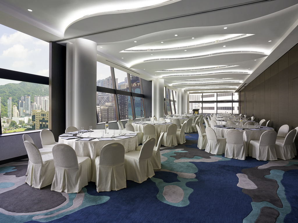 Hotel hong kong the park lane hong kong a pullman hotel for World s most beautiful dining rooms