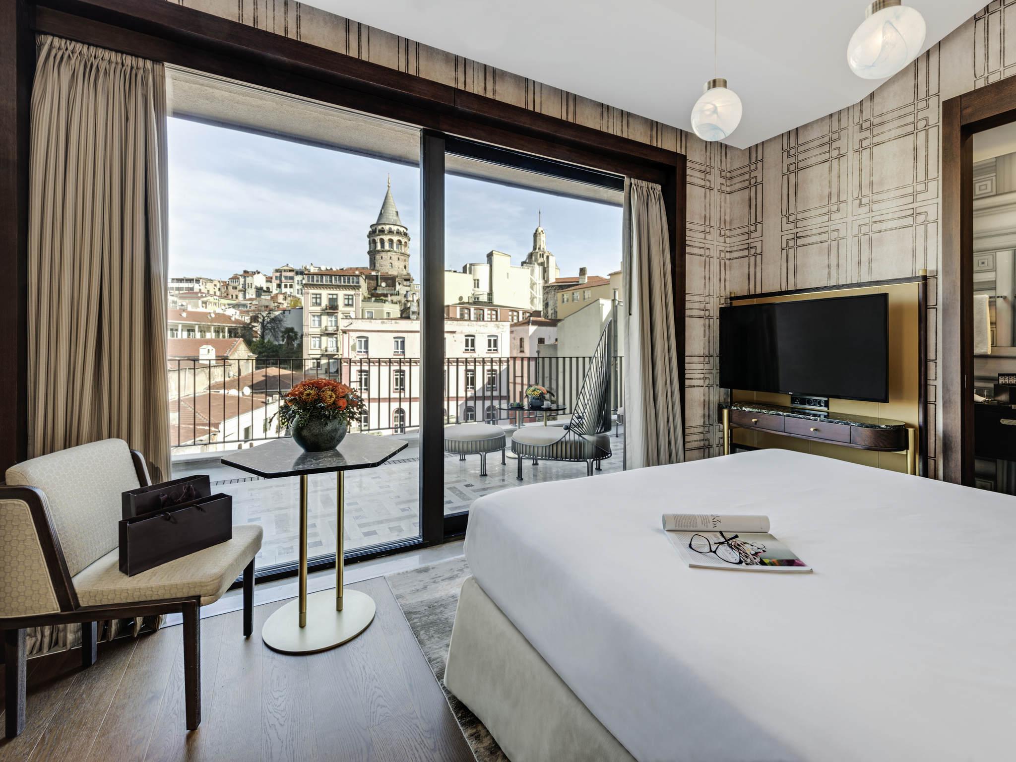 โรงแรม – The Galata Istanbul Hotel - MGallery by Sofitel