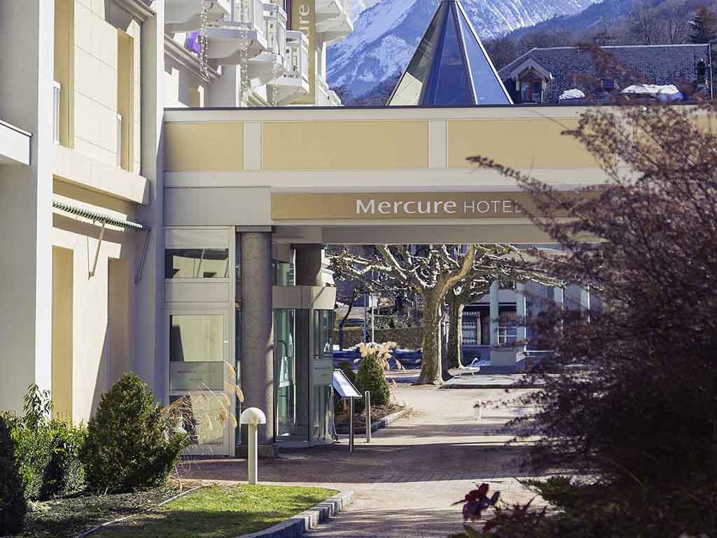Mercure brides les bains grand hotel des thermes - Office de tourisme de brides les bains ...