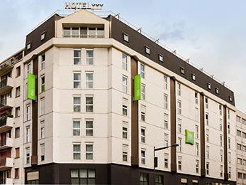 hoteles baratos de paris: