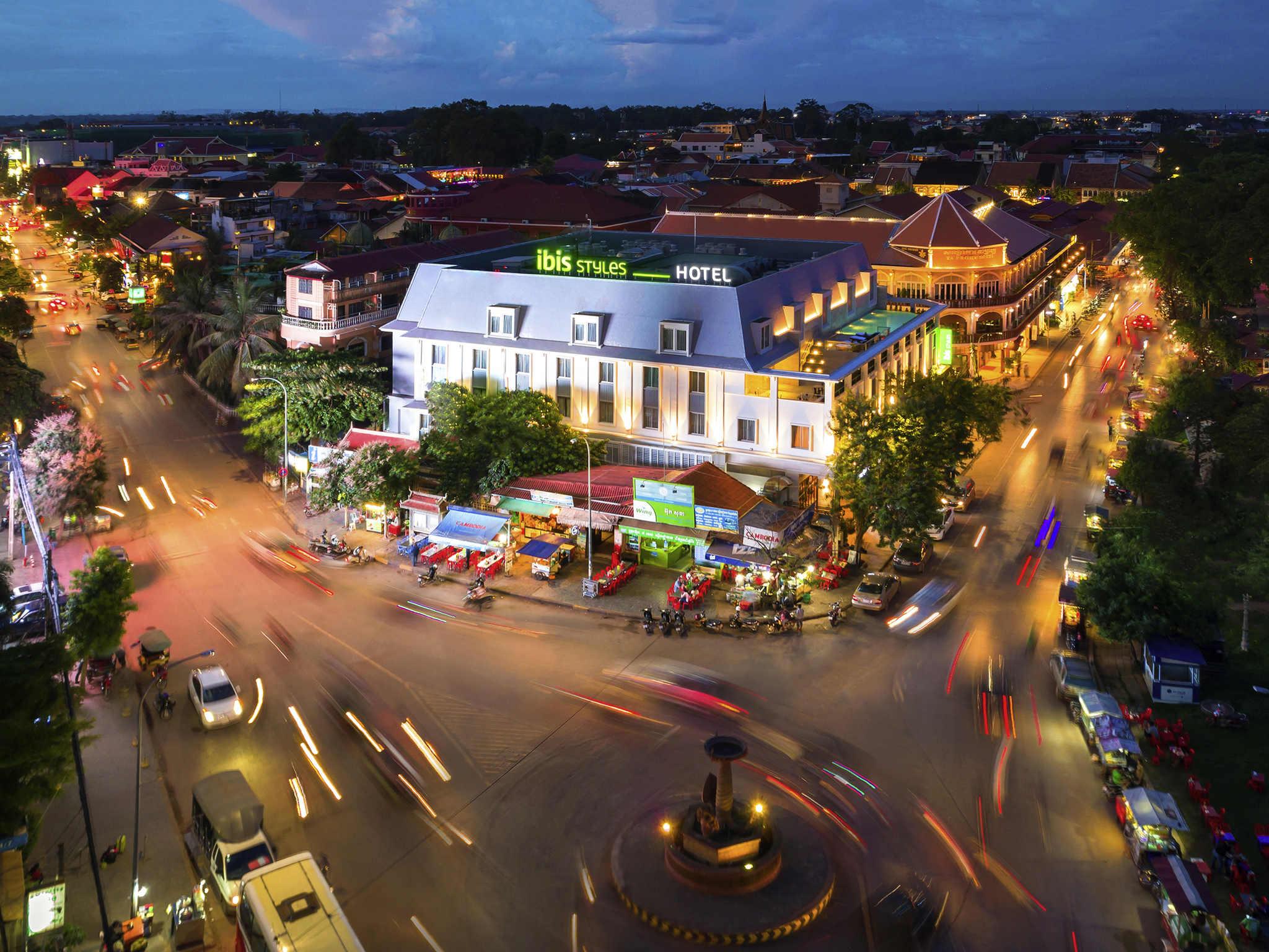 Hotell – ibis Styles Siem Reap