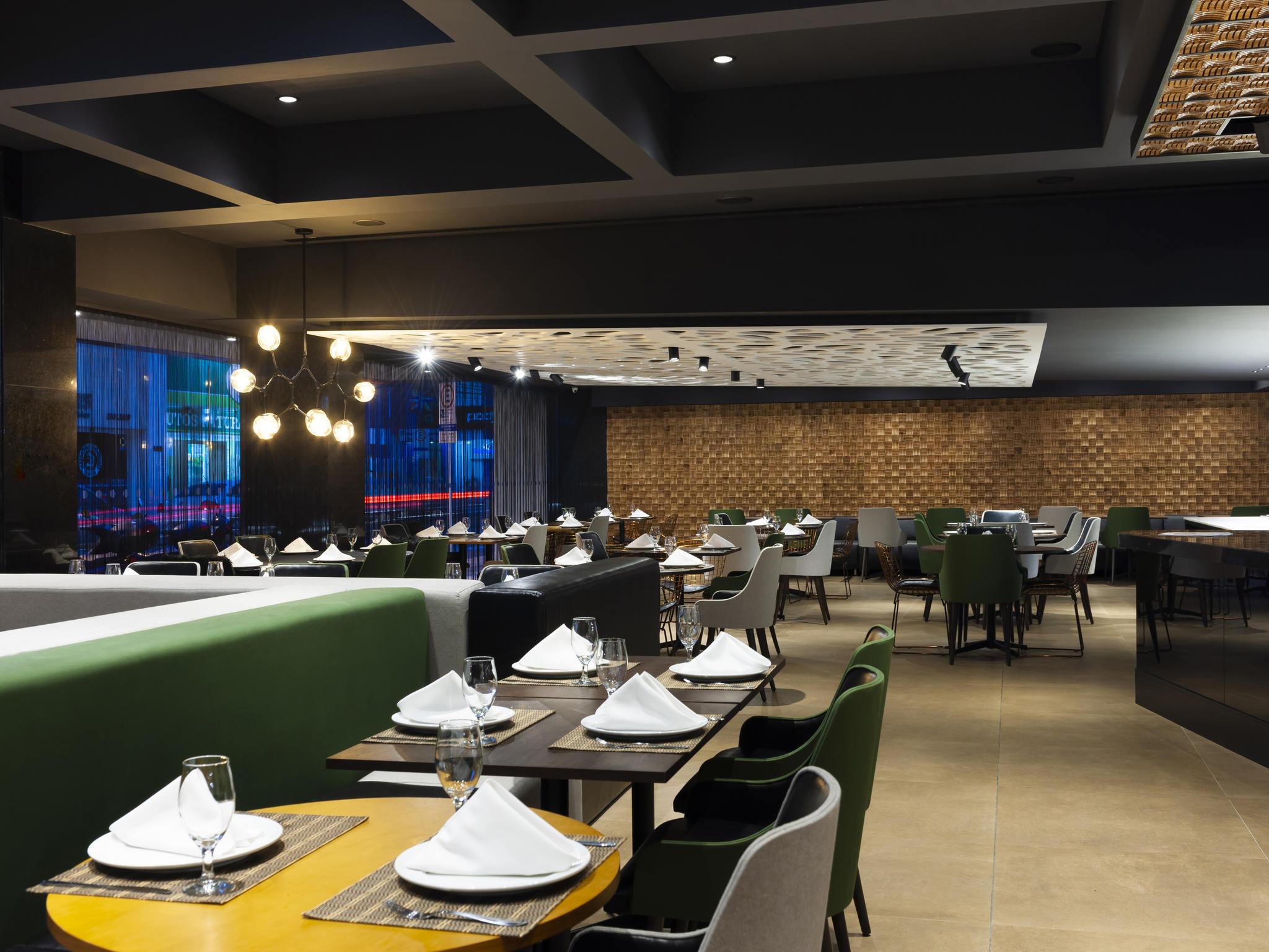 Restaurante - Novotel Itajaí (abre em dezembro de 2017)