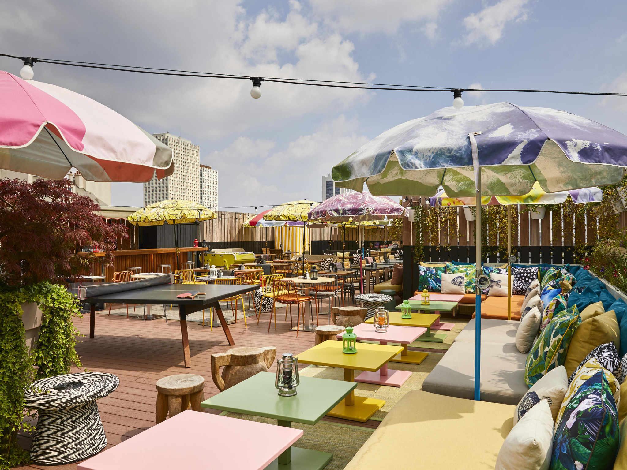 호텔 – 마마 셸터 파리