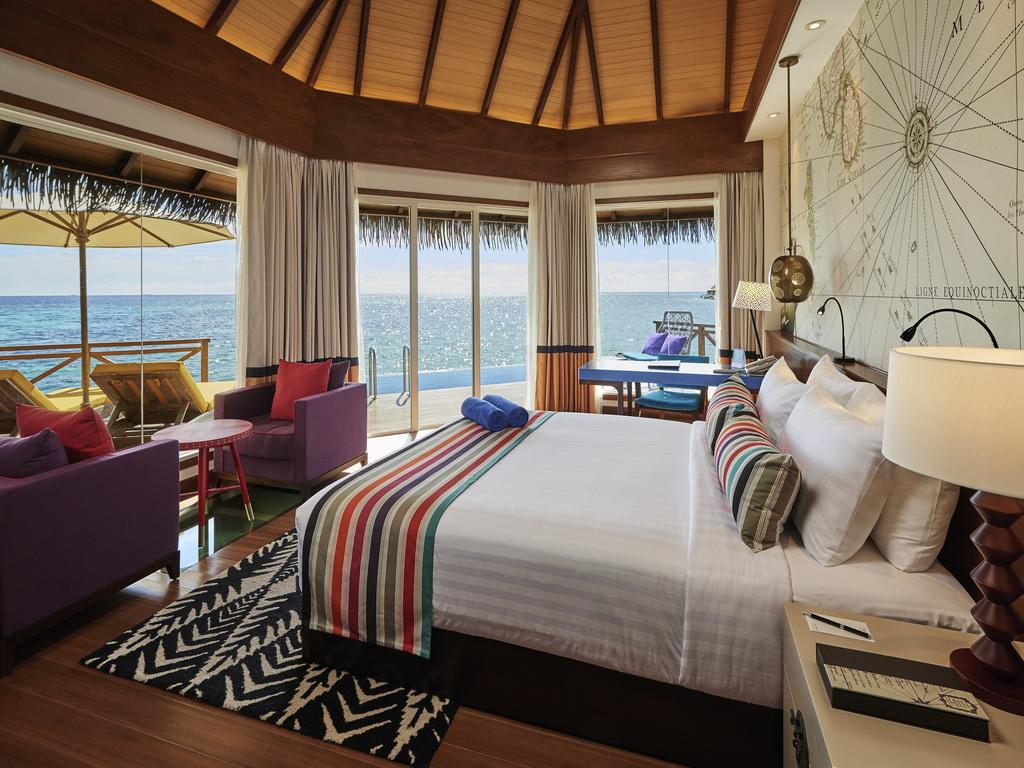 Hotel In Kooddoo Island Mercure Maldives Kooddoo Resort