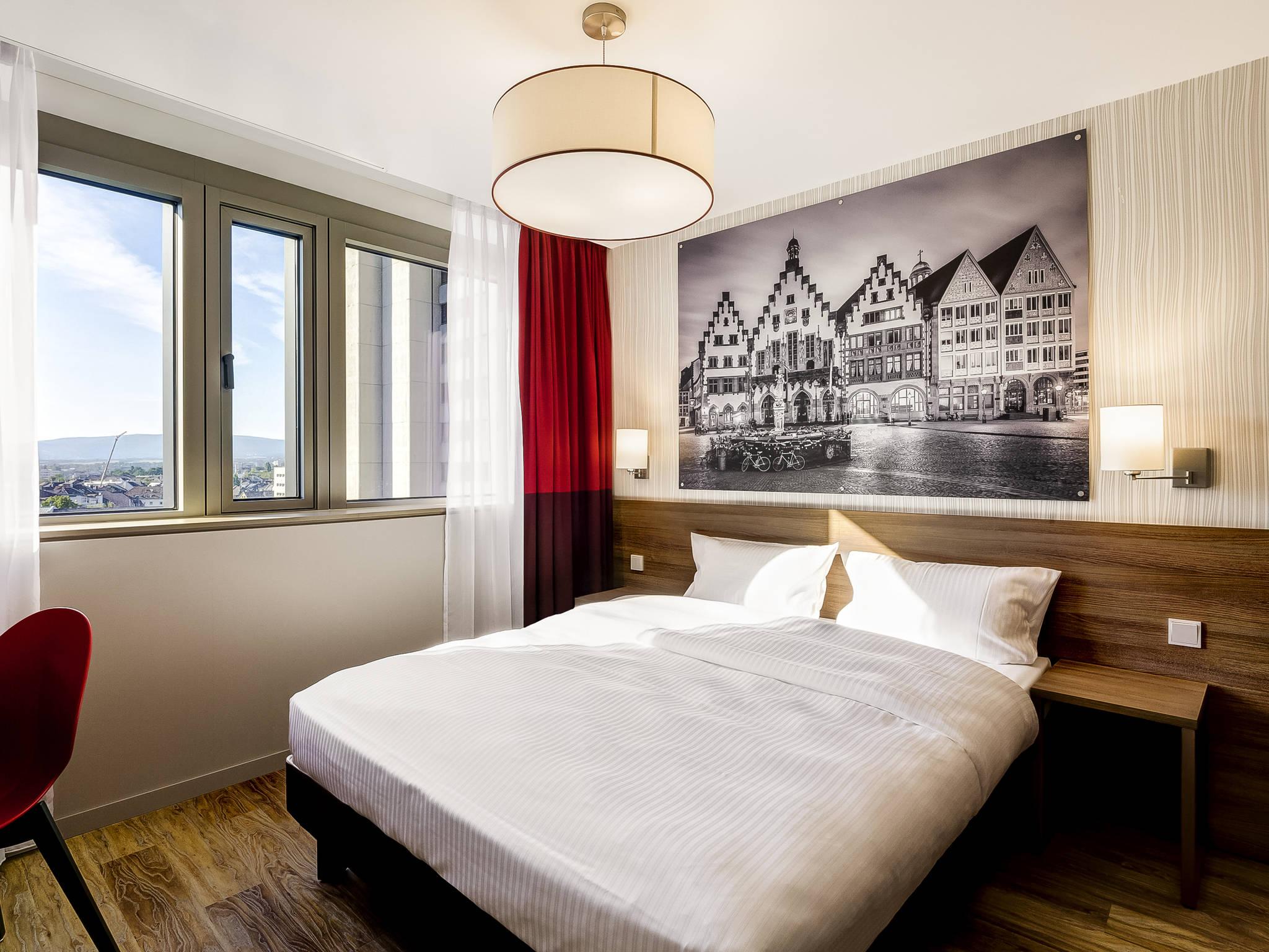 Отель — Апартотель Adagio Франкфурт Сити Мессе