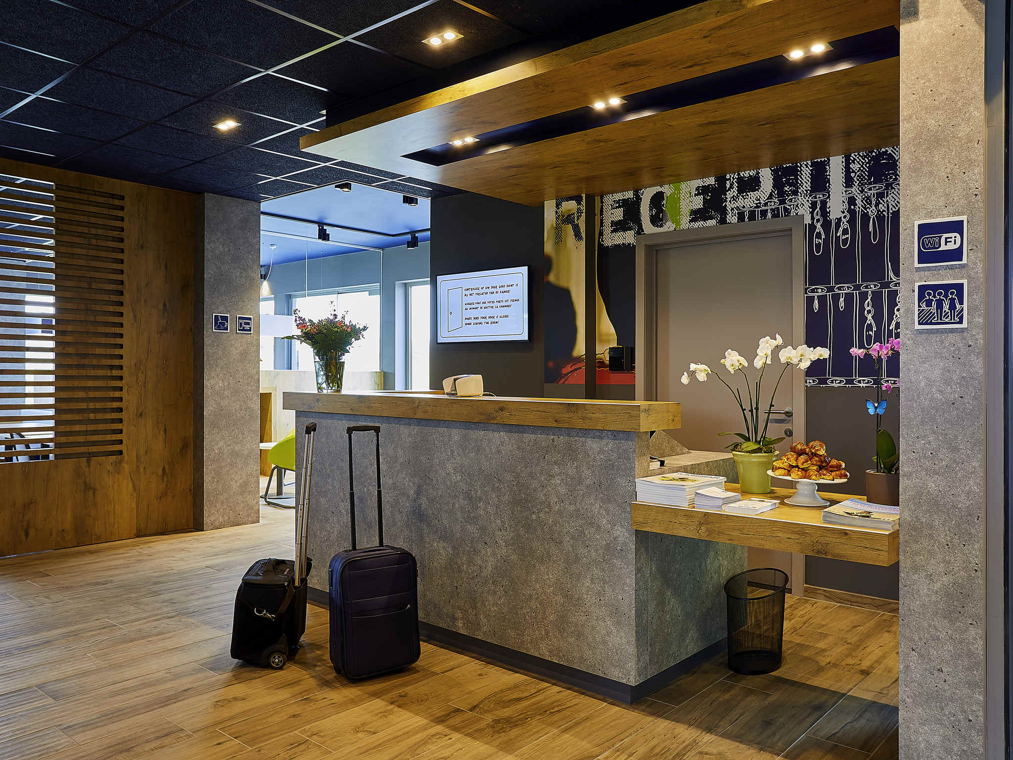 Отель — ibis budget Oostende Airport