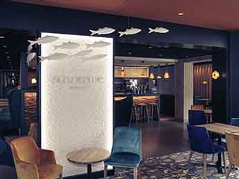 Restaurant caf bar l 39 hotel h tel mercure dinan port le jerzual lanvallay - Hotel dinan port le jerzual ...