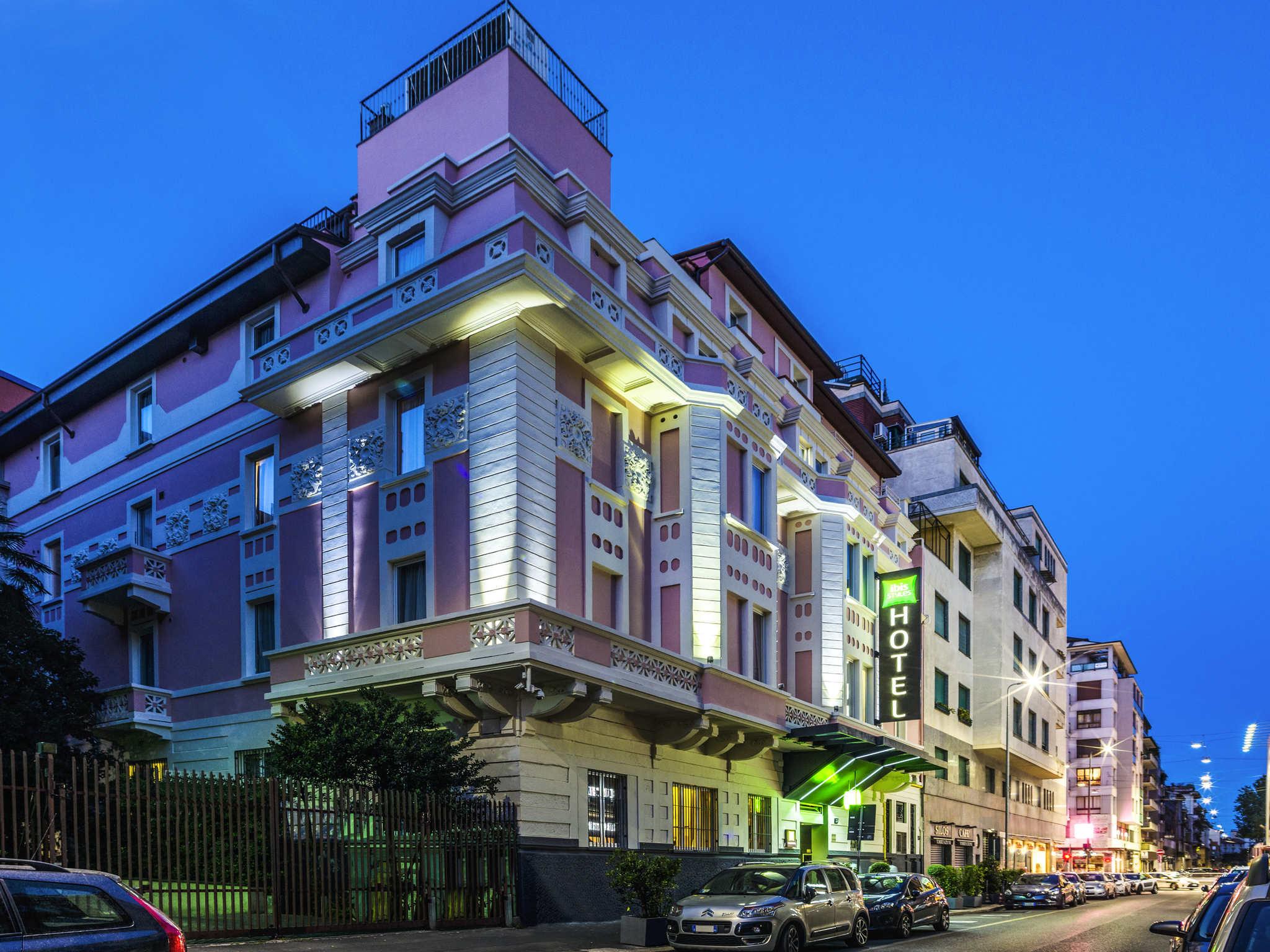 Отель — ibis Styles Милан Центр