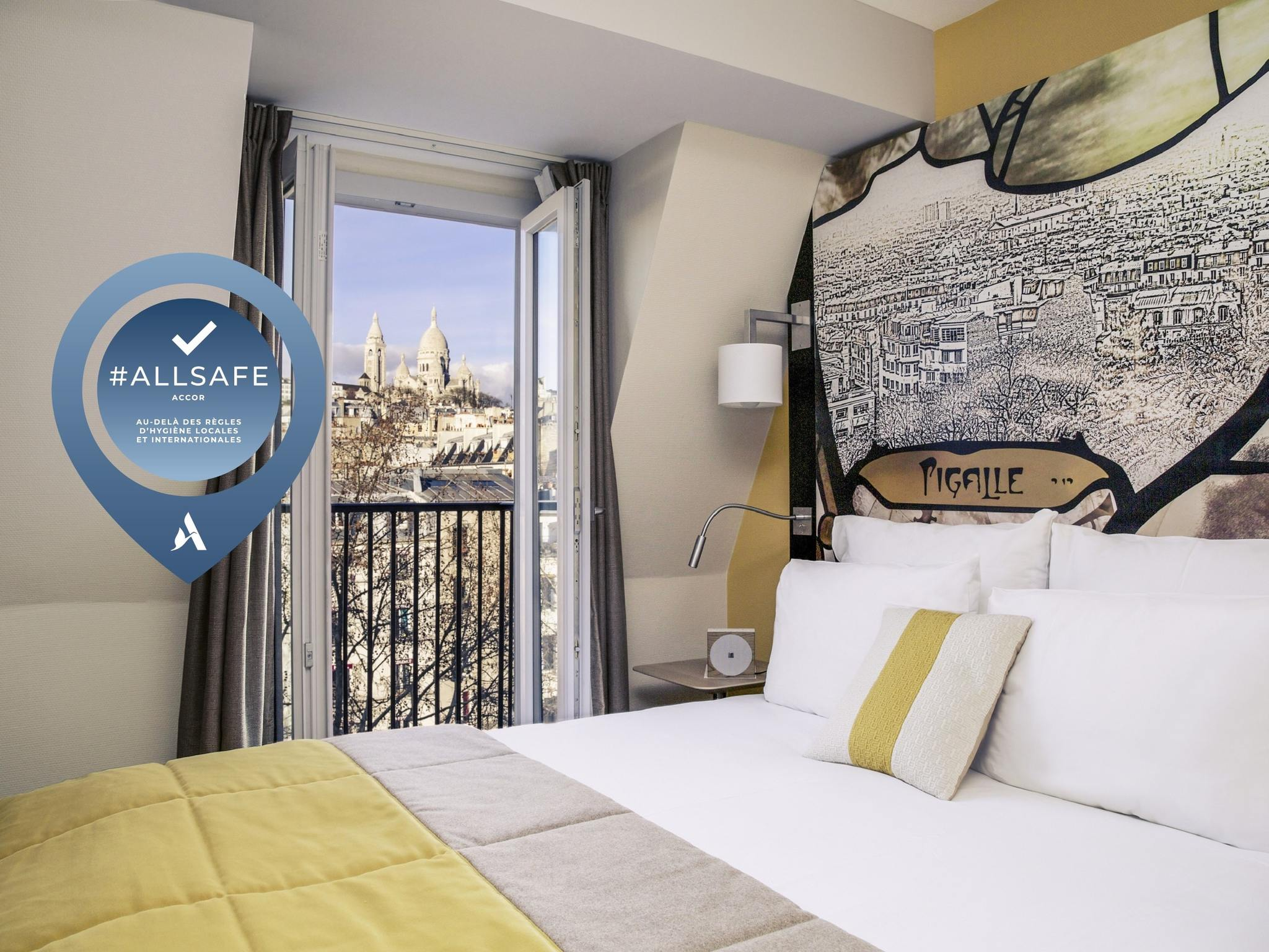 酒店 – 巴黎 9 区皮加勒圣心教堂美居酒店