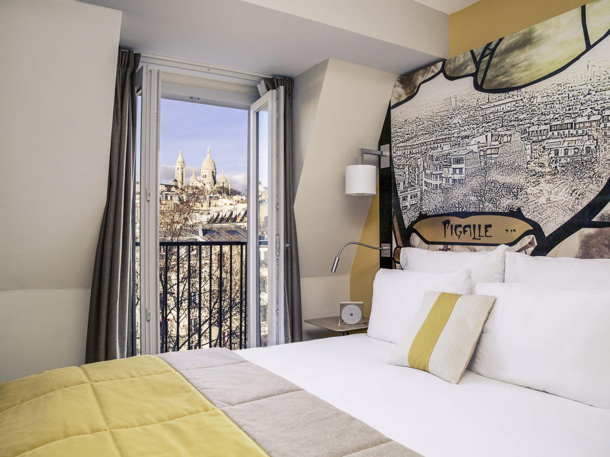 Отель — Отель Mercure Париж 9 Пигаль Сакре-Кер