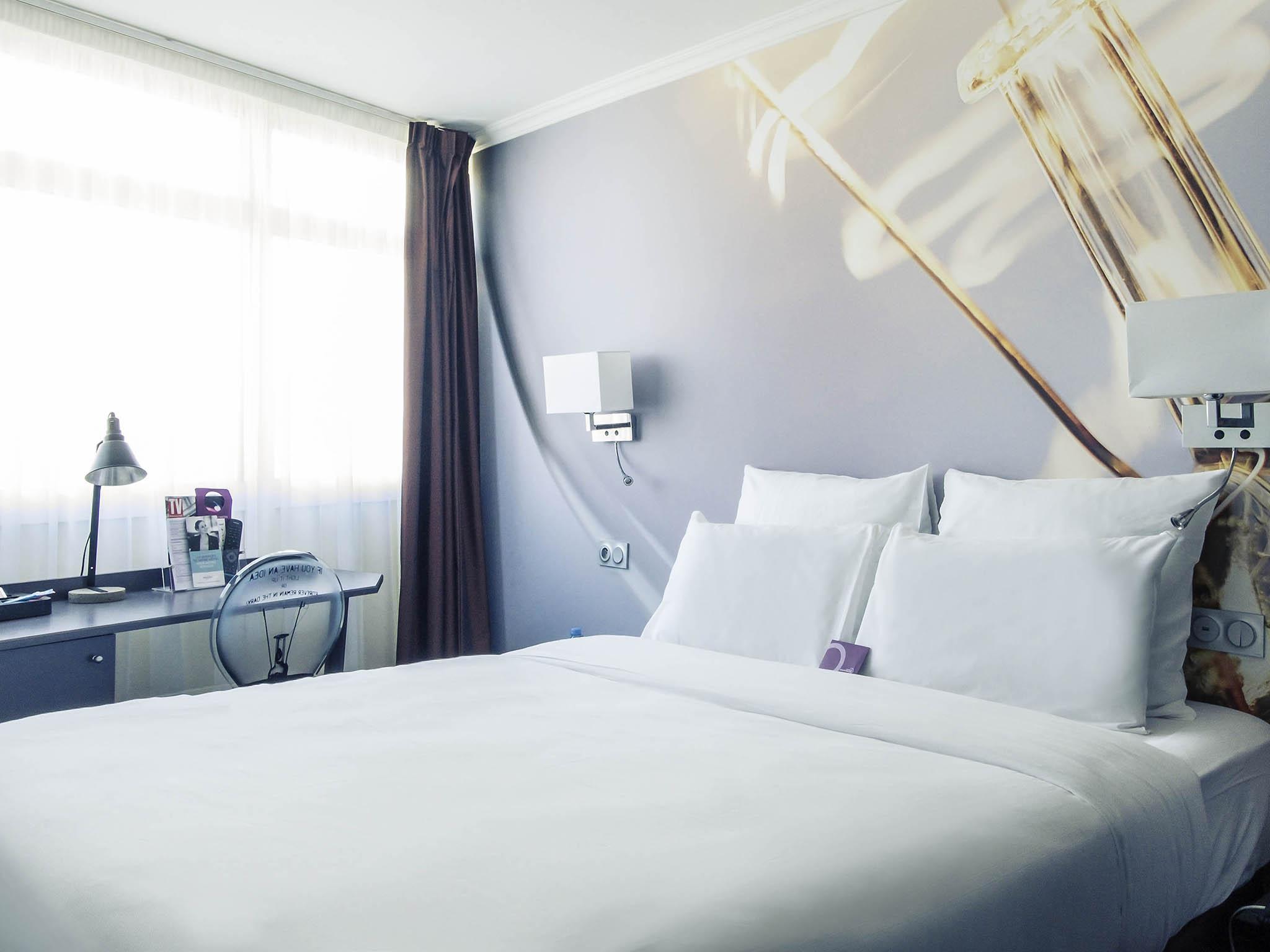 Отель — Hôtel Mercure Paris Malakoff Parc des Expositions