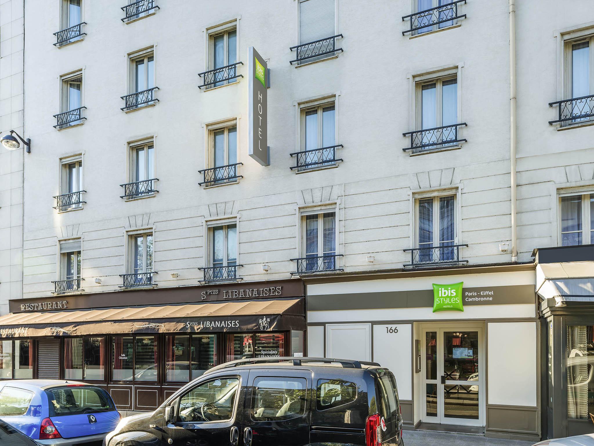 Hotel Ibis Paris Tour Eiffel Cambronne