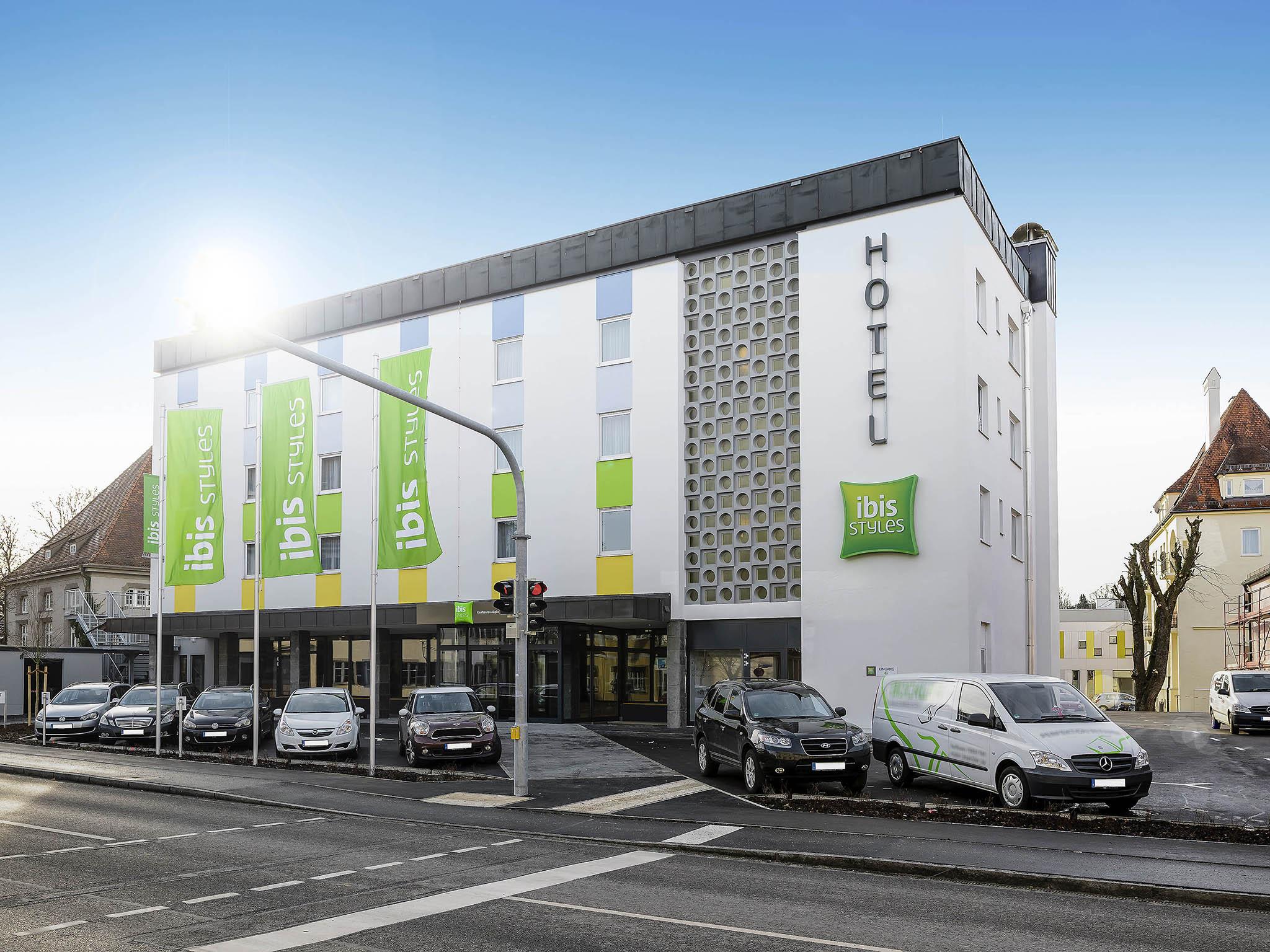 Hotell – ibis Styles Kaufbeuren Allgäu