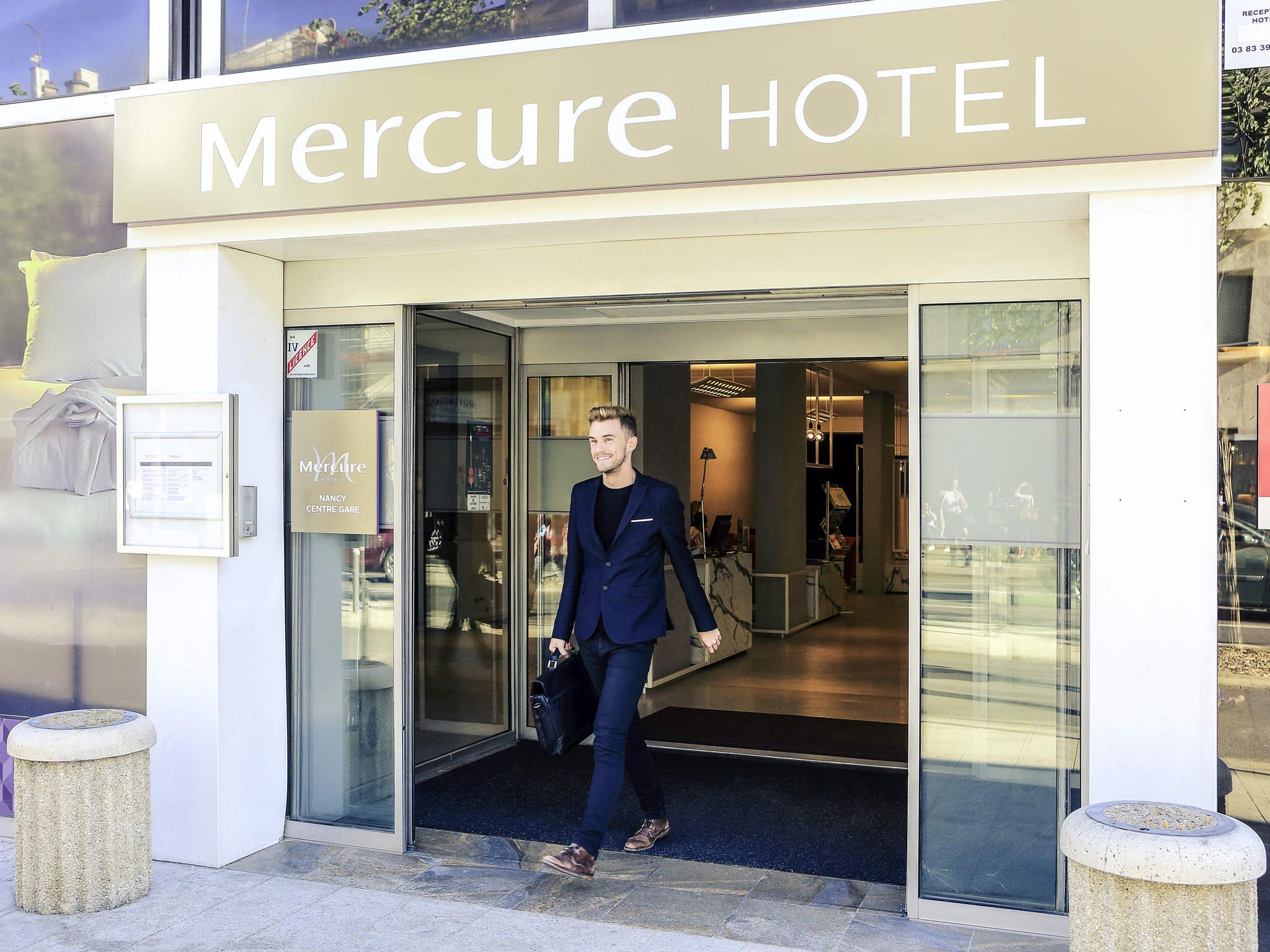 Отель — Hôtel Mercure Nancy Centre Gare