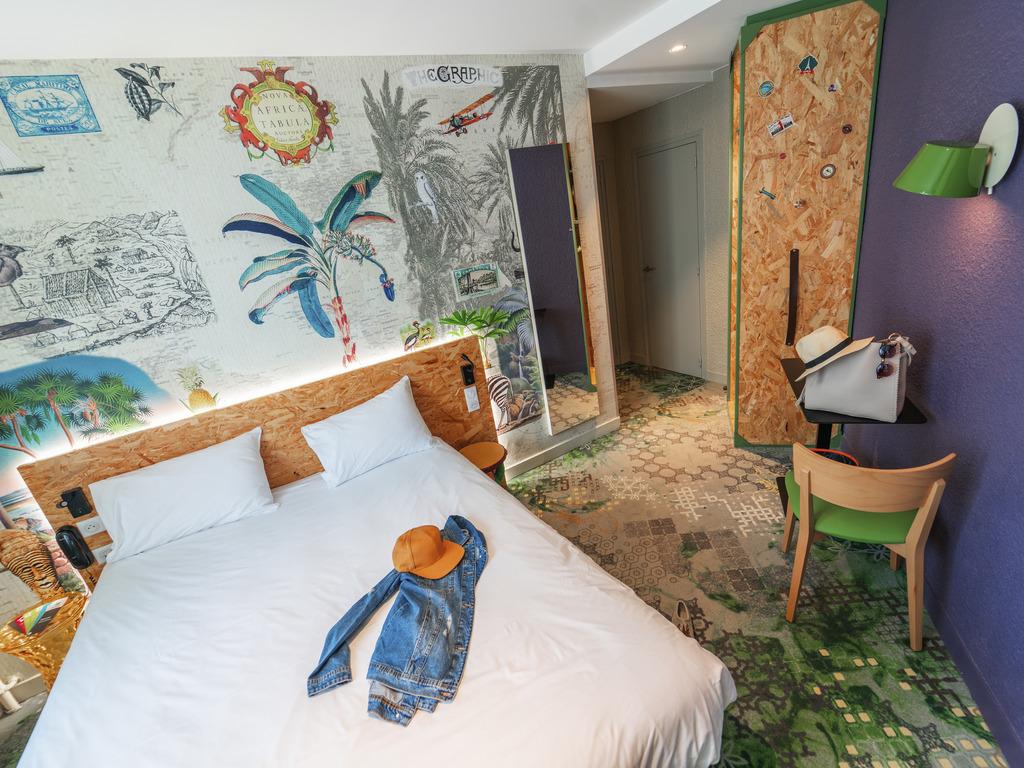 Hotel in boulogne billancourt ibis styles paris boulogne - Metro marcel sembat boulogne ...