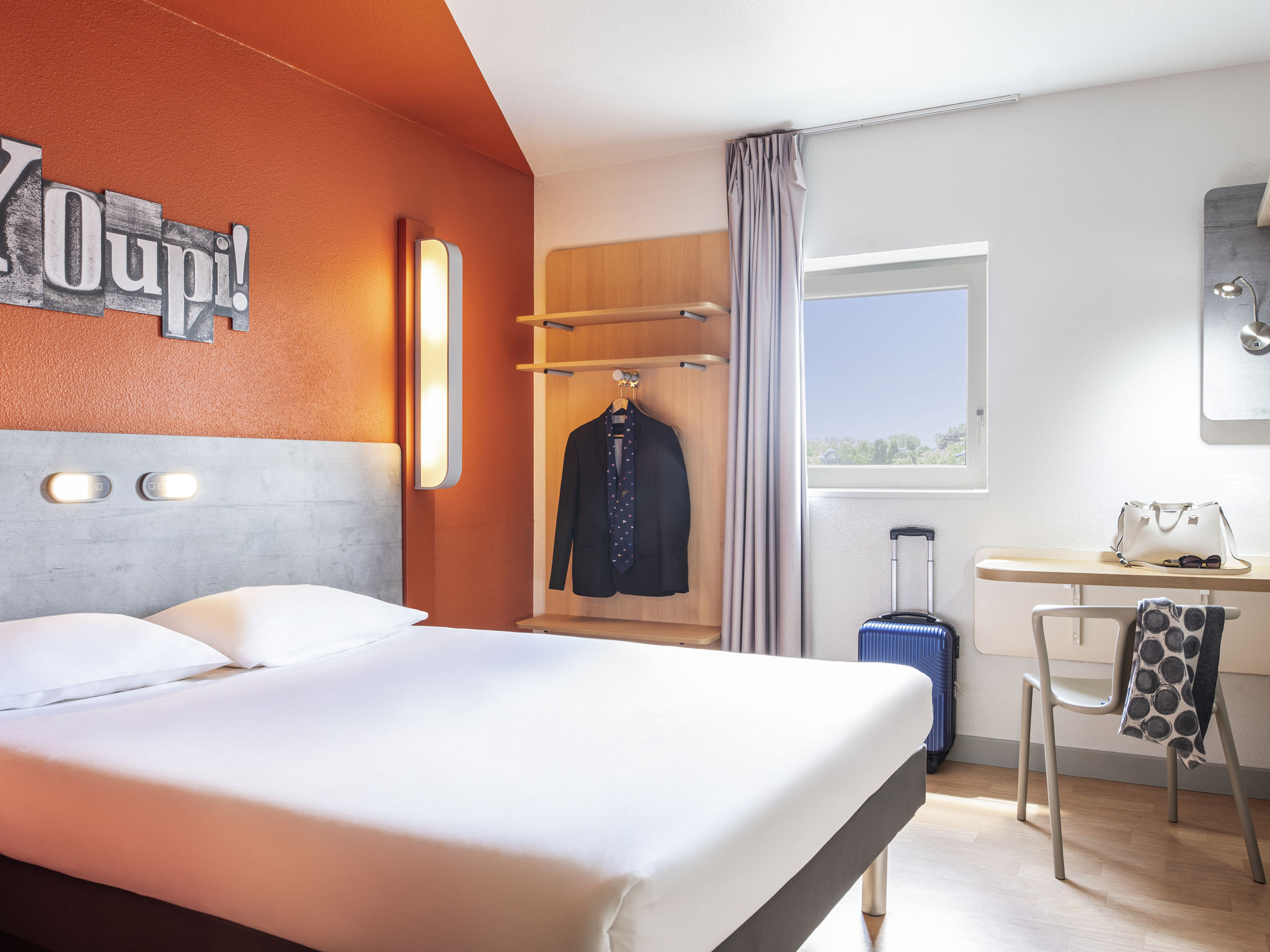 Hotell – ibis budget Grigny Centre