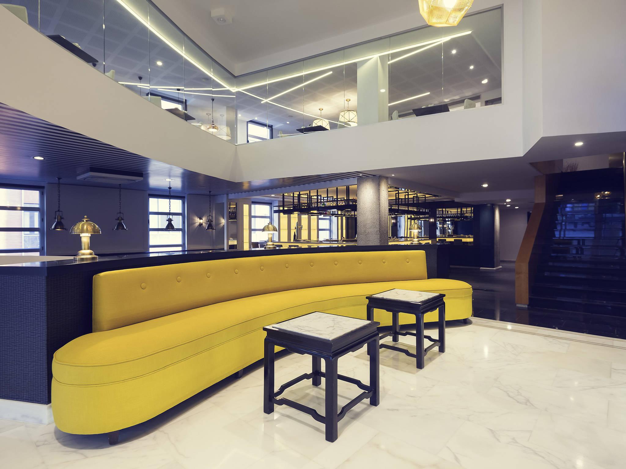 Отель — Mercure Жарден де Альбия Бильбао