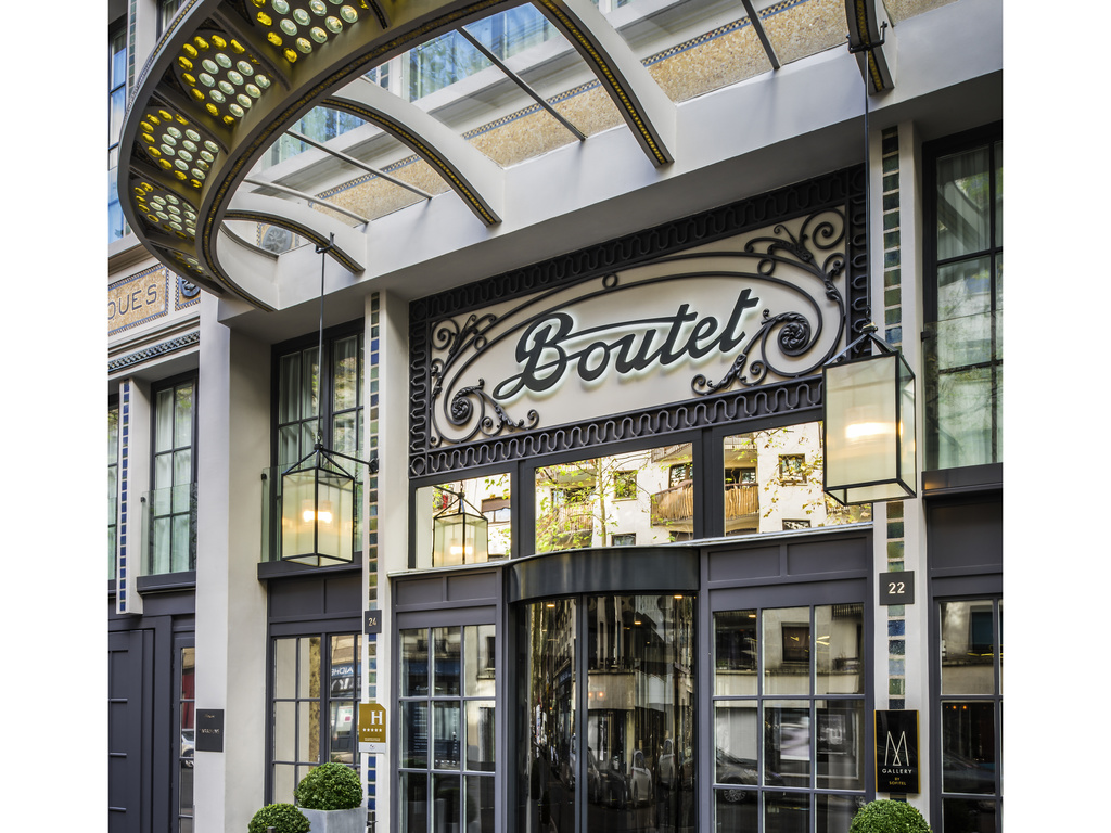 Hotel de luxe paris h tel paris bastille boutet for Hotel paris x