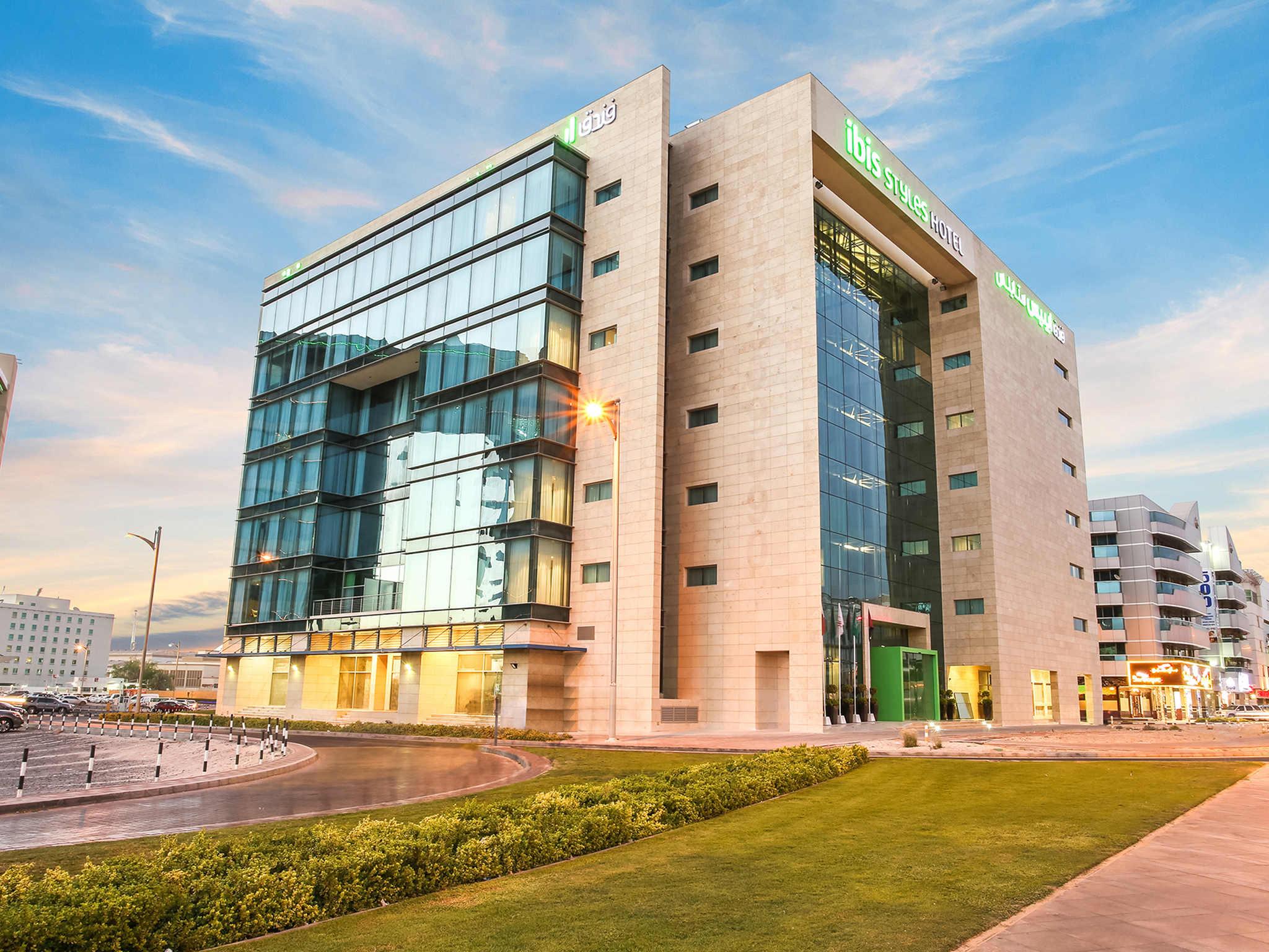 โรงแรม – ไอบิส สไตล์ ดูไบ จูไมราห์