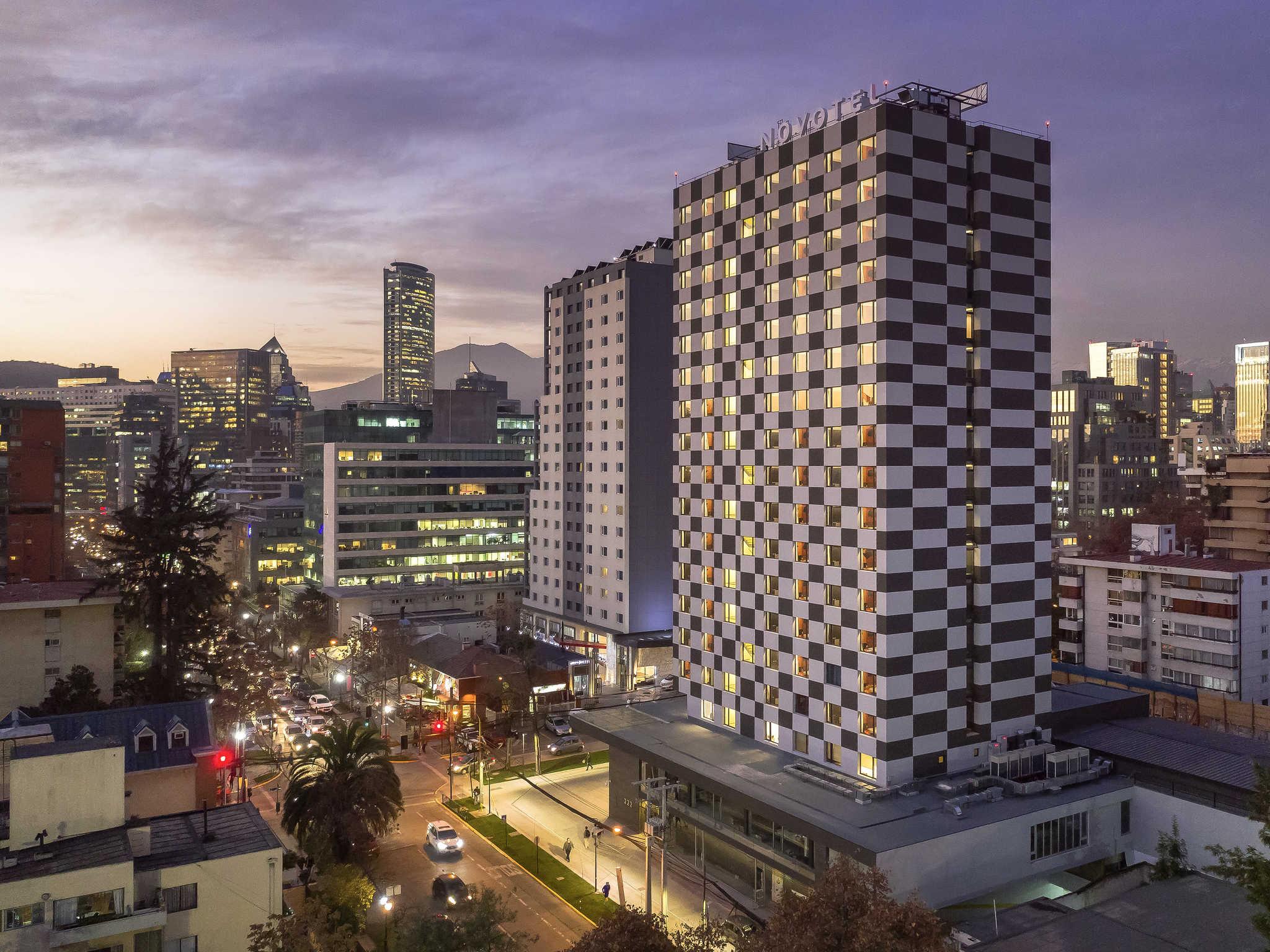 Hotel – Novotel Santiago Providencia (inauguração em outubro de 2018)