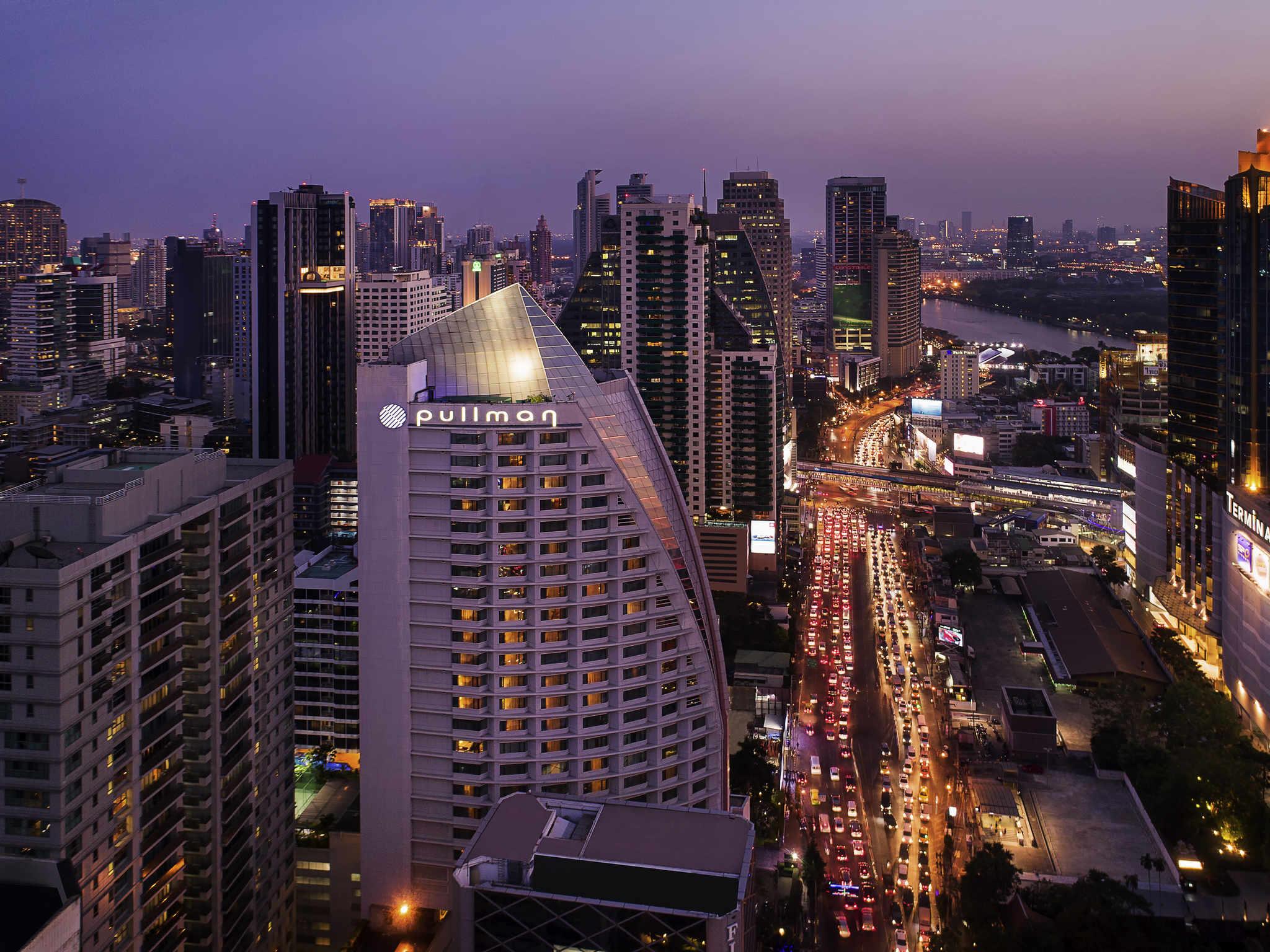 酒店 – 曼谷素坤逸阿索克铂尔曼大酒店