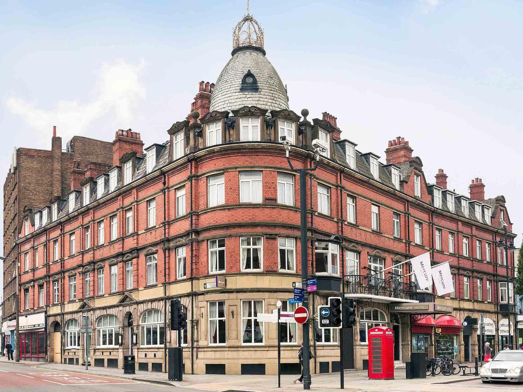 Отель — Mercure Doncaster Centre Danum Hotel
