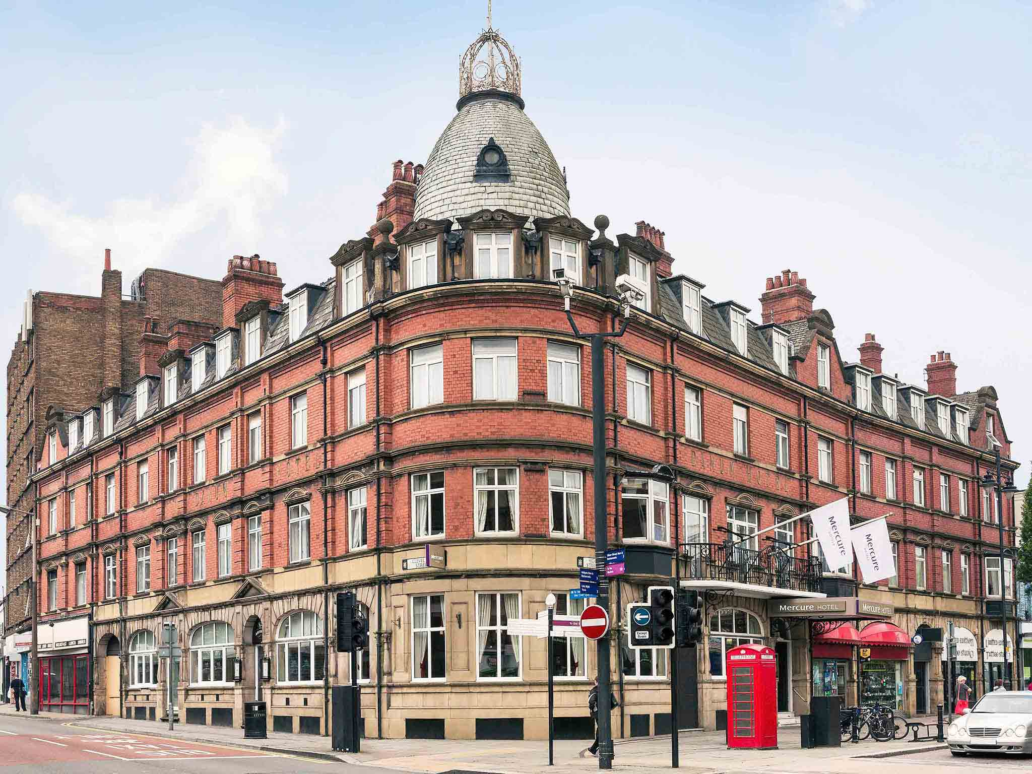 Hotell – Mercure Doncaster Centre Danum Hotel