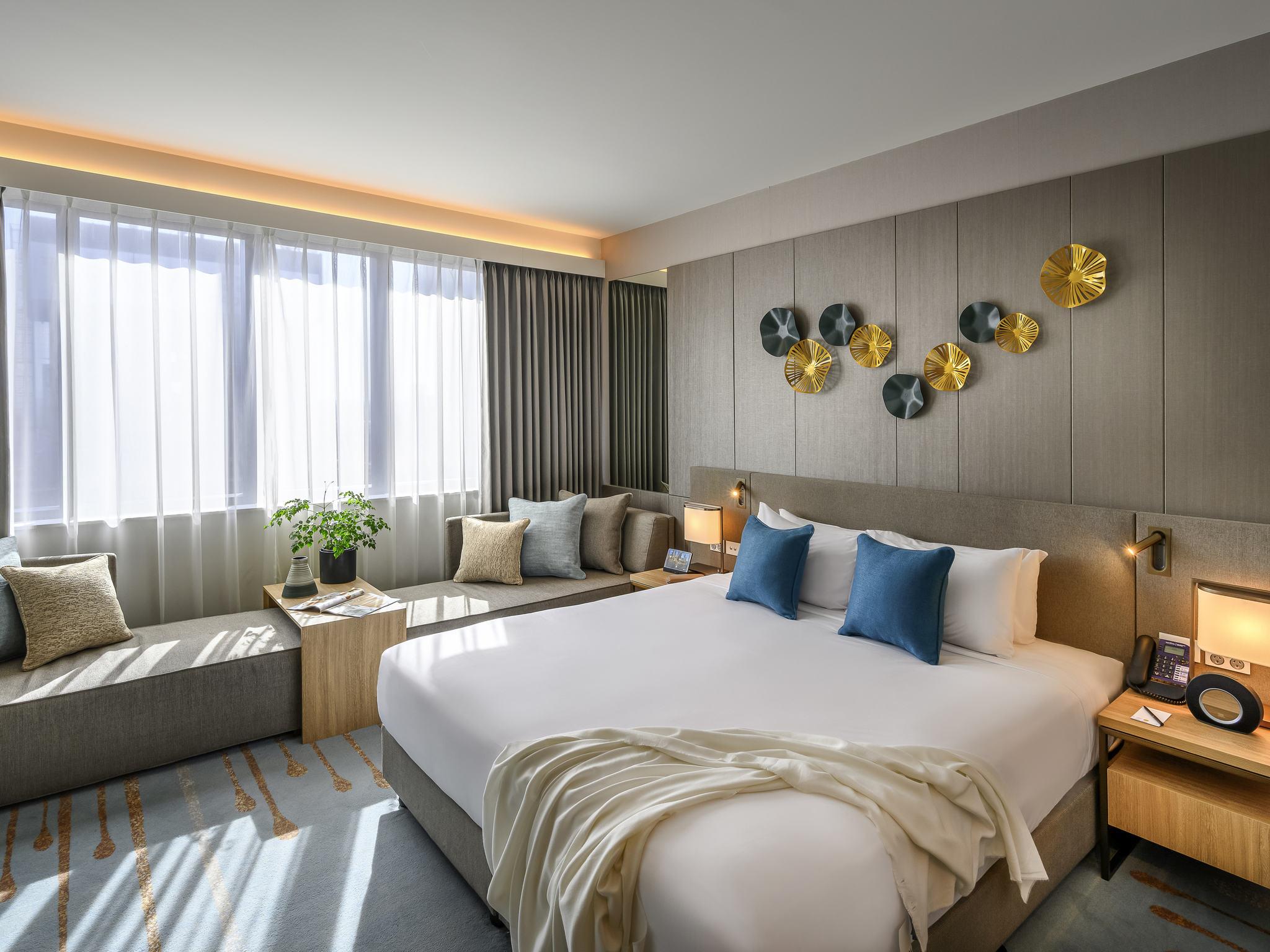 酒店 – 诺富特墨尔本小朗斯代尔街酒店(2018 年 11 月开业)