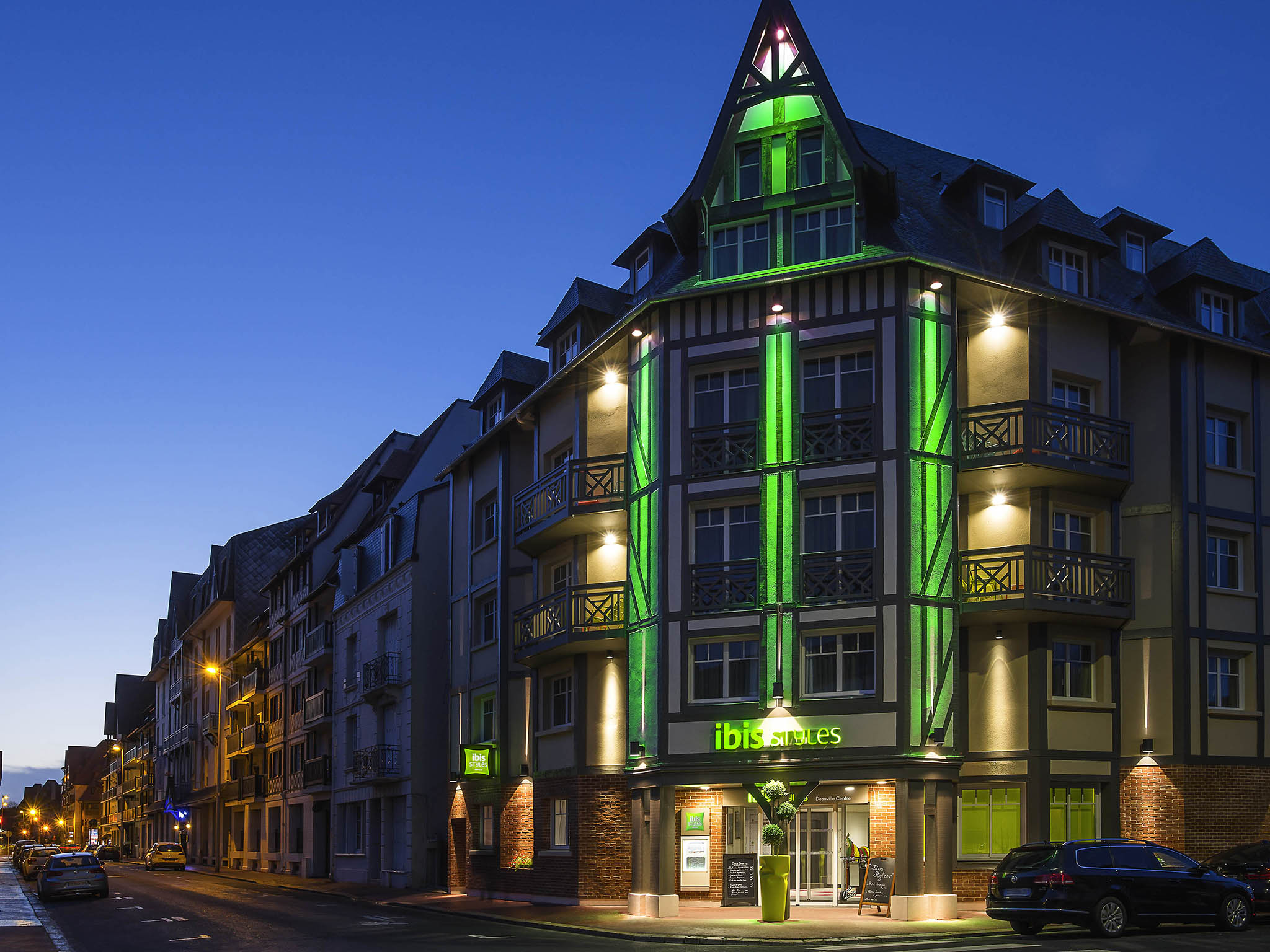 H tel deauville ibis styles deauville centre for Hotels deauville