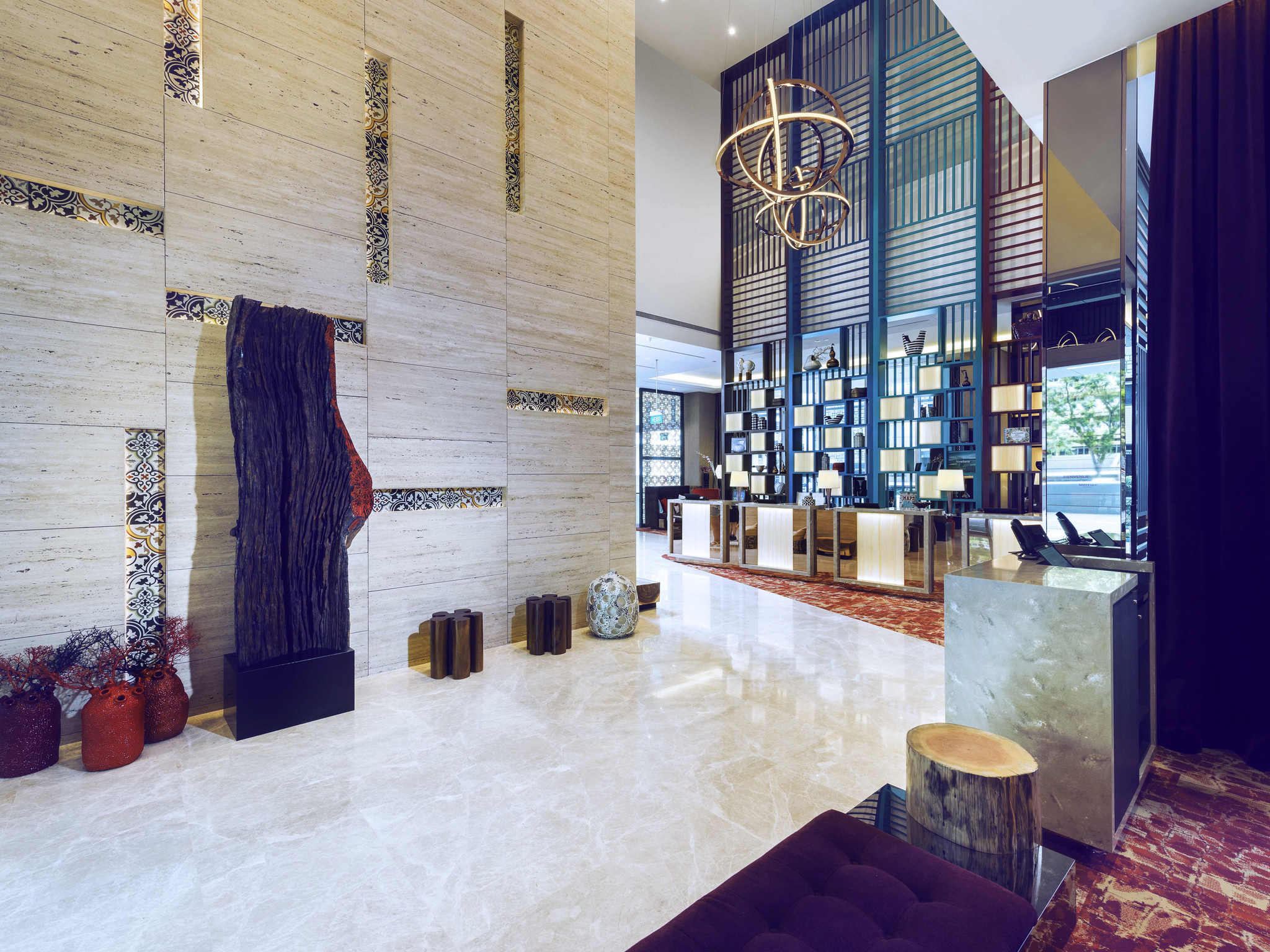 ホテル – メルキュール シンガポール ブギス
