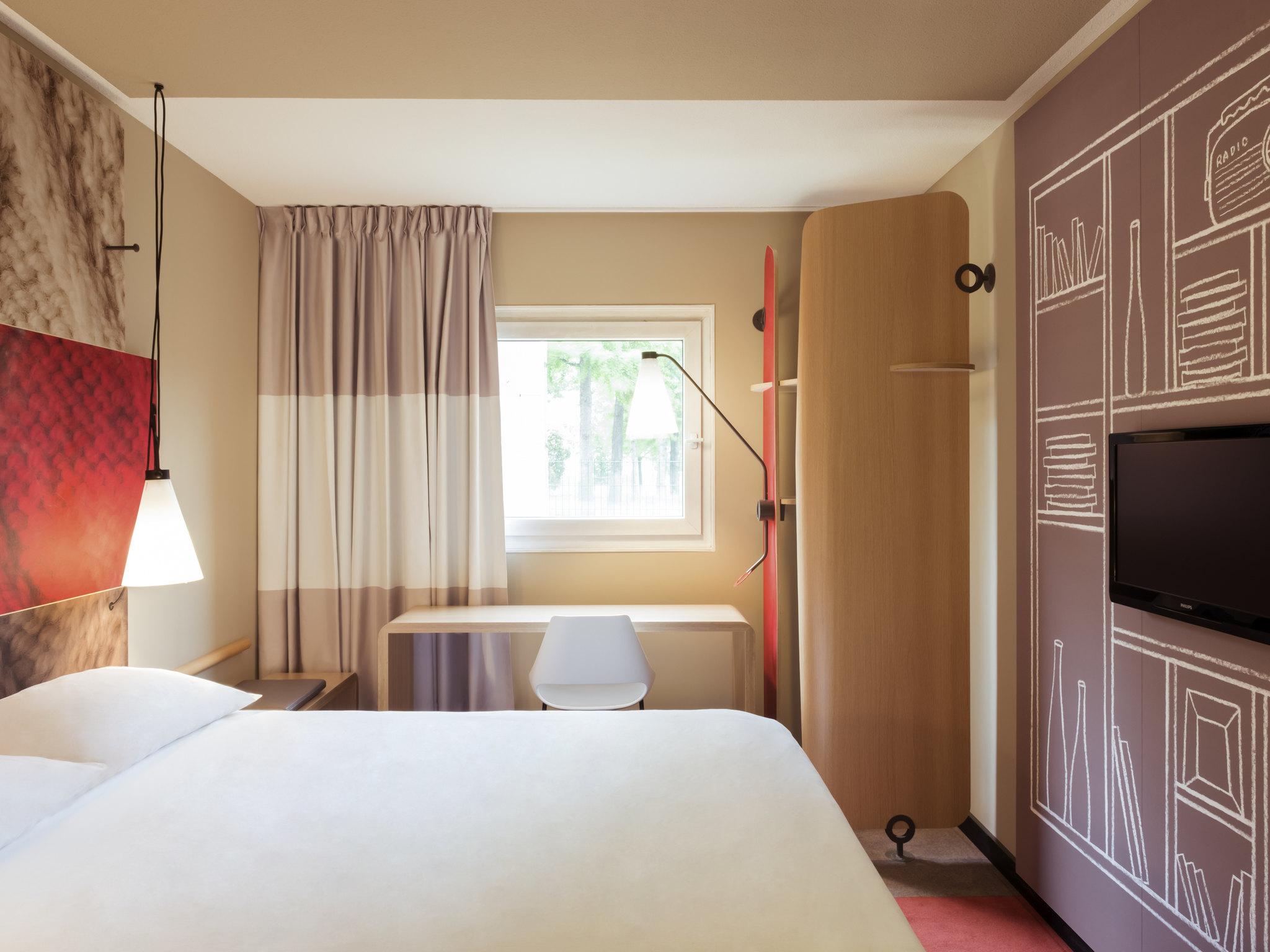 Отель — ibis Lyon Carré de Soie