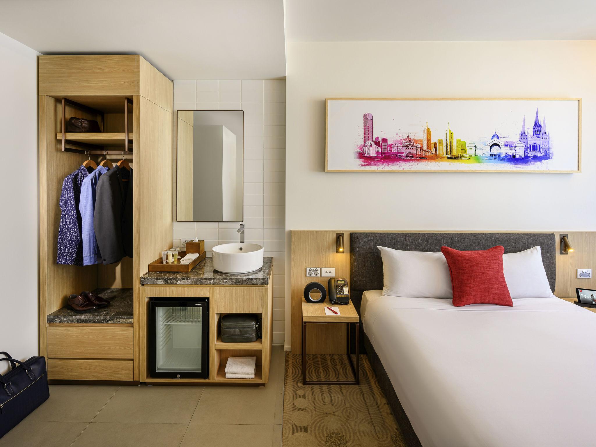 Hotel – ibis Melbourne Little Lonsdale Street (inaug. novembro de 2018)
