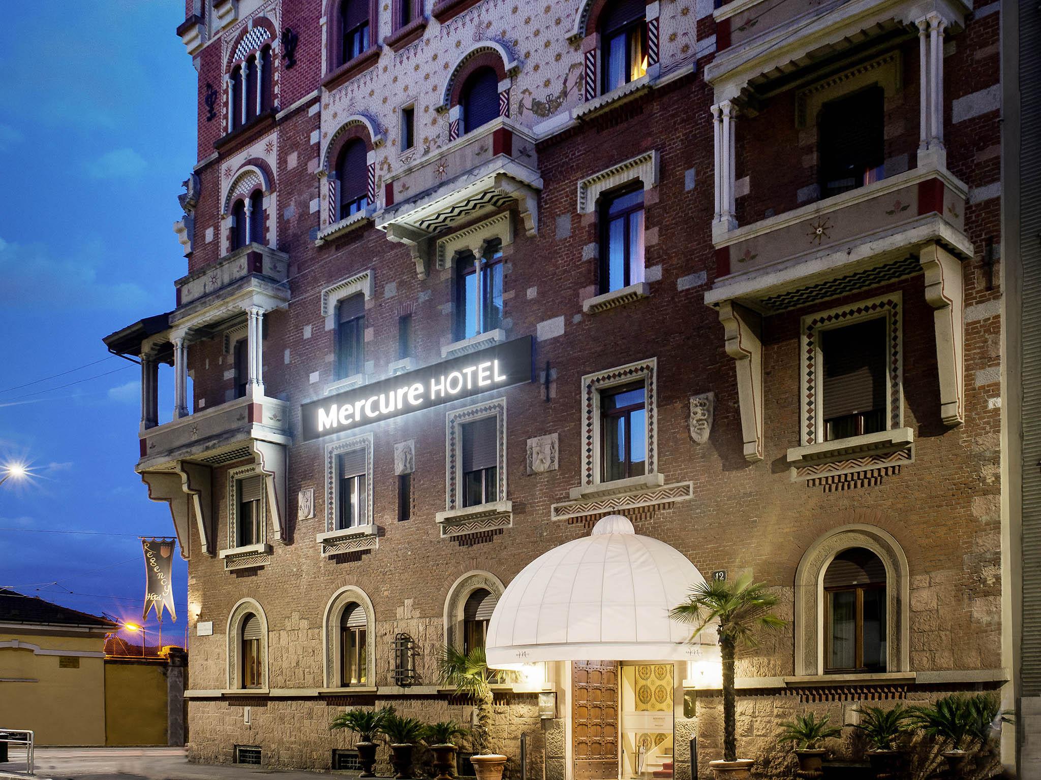 Отель — Mercure Милан Ридженси