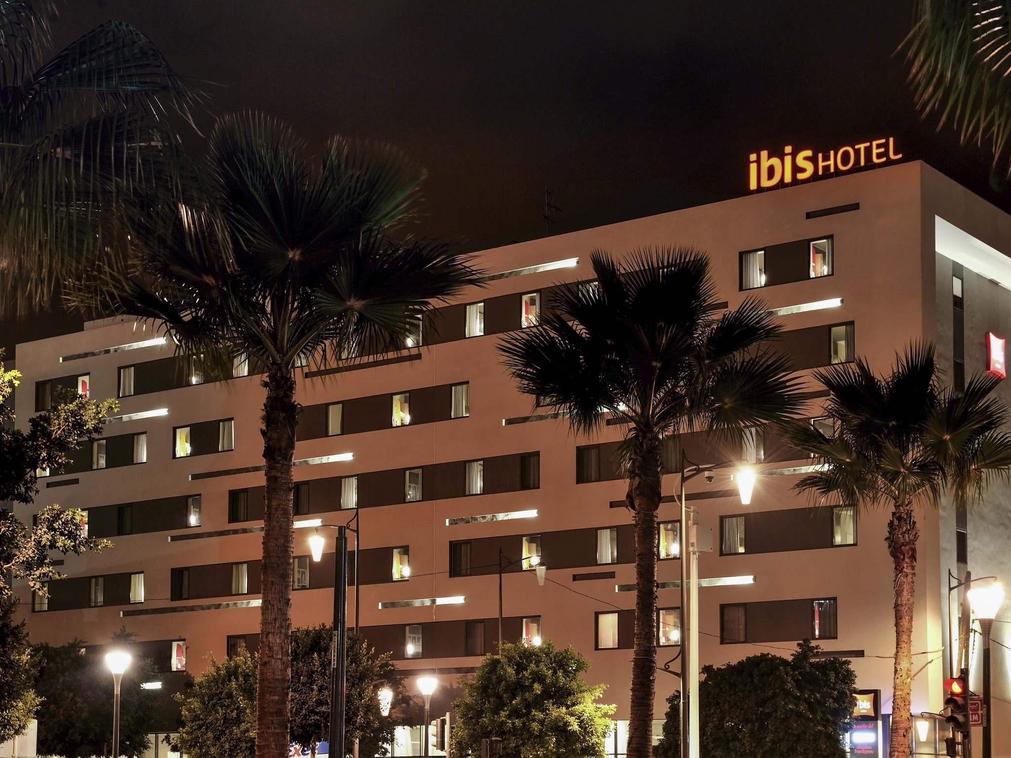 โรงแรม – ibis Casa-Voyageurs